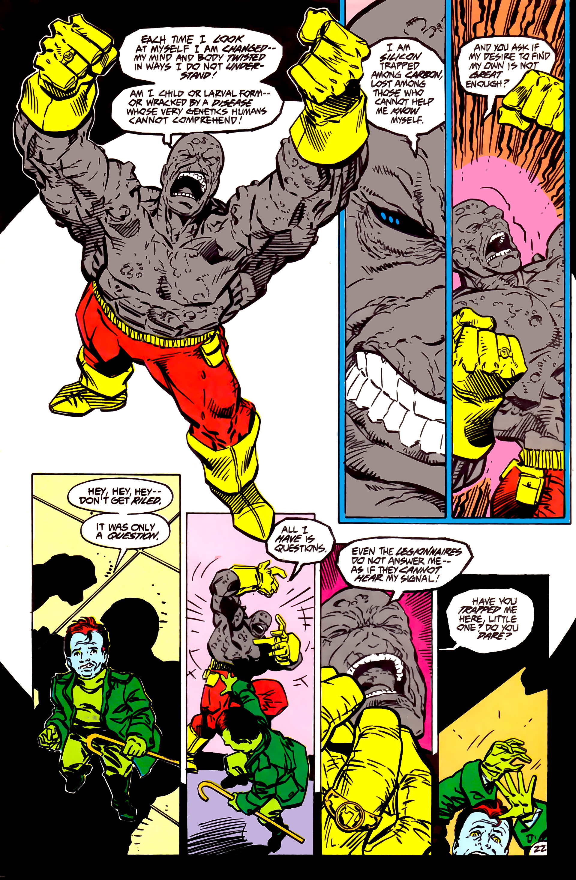 Legion of Super-Heroes (1984) 55 Page 22