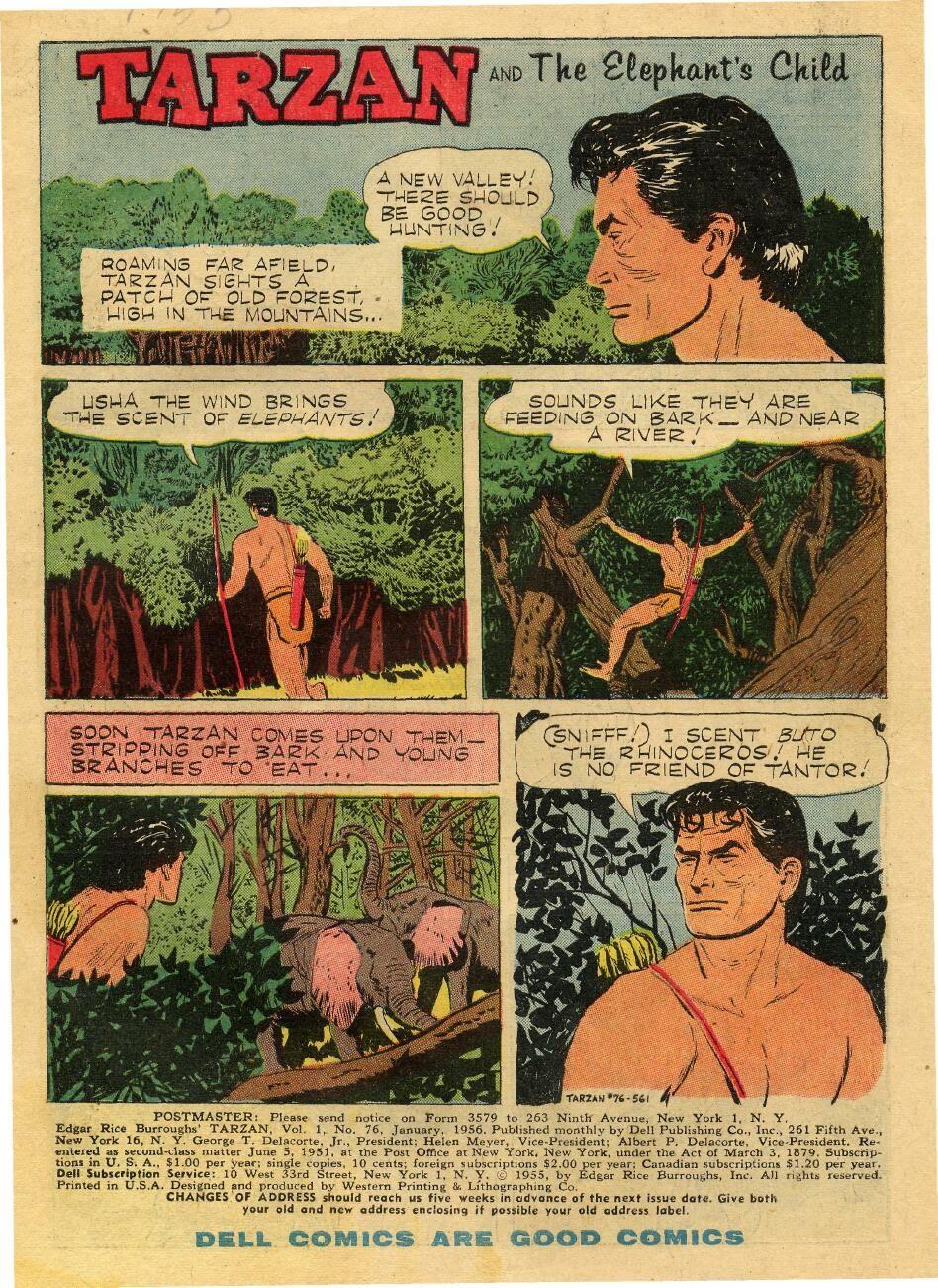 Tarzan (1948) issue 76 - Page 3