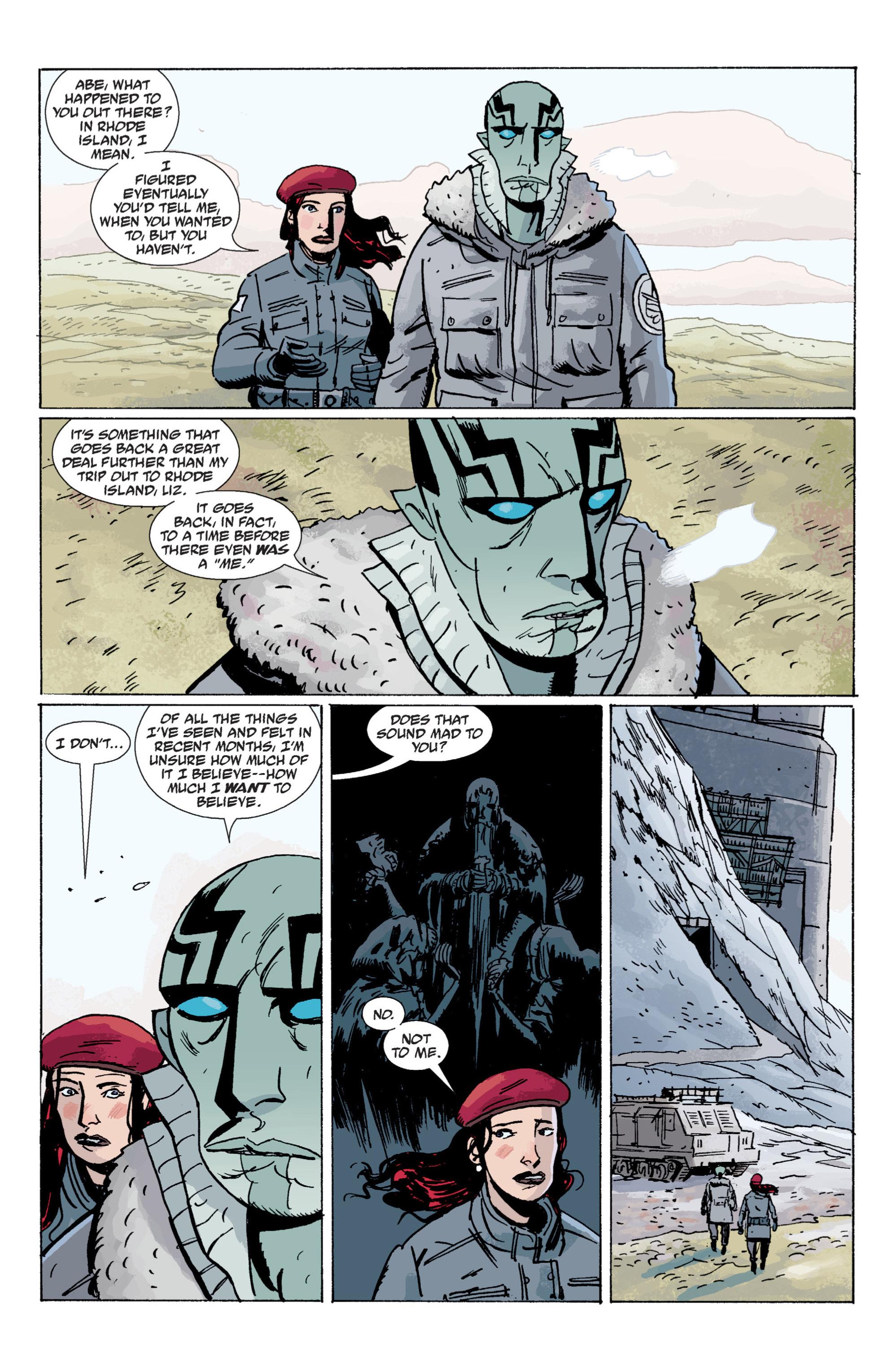 Read online B.P.R.D. (2003) comic -  Issue # TPB 7 - 17