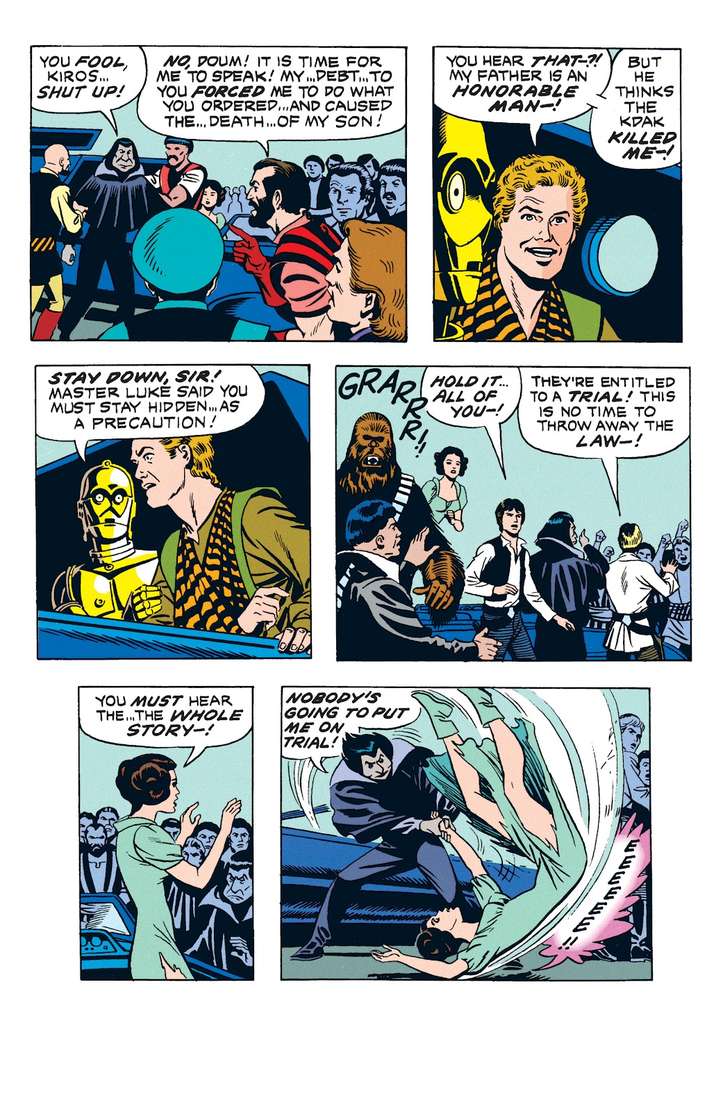 Read online Star Wars Legends: The Newspaper Strips - Epic Collection comic -  Issue # TPB (Part 3) - 44