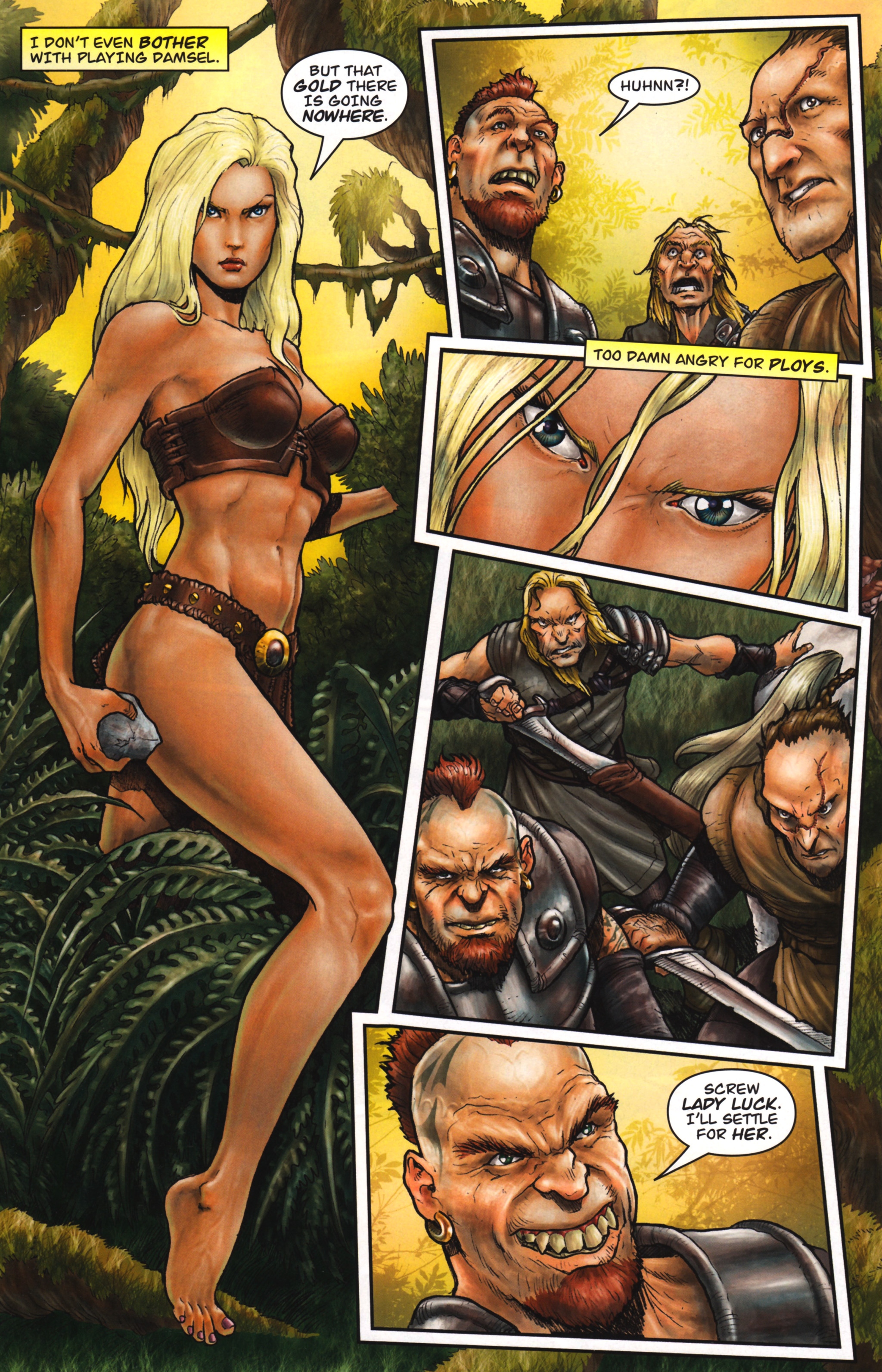 Read online Arhian: Head Huntress comic -  Issue #1 - 19
