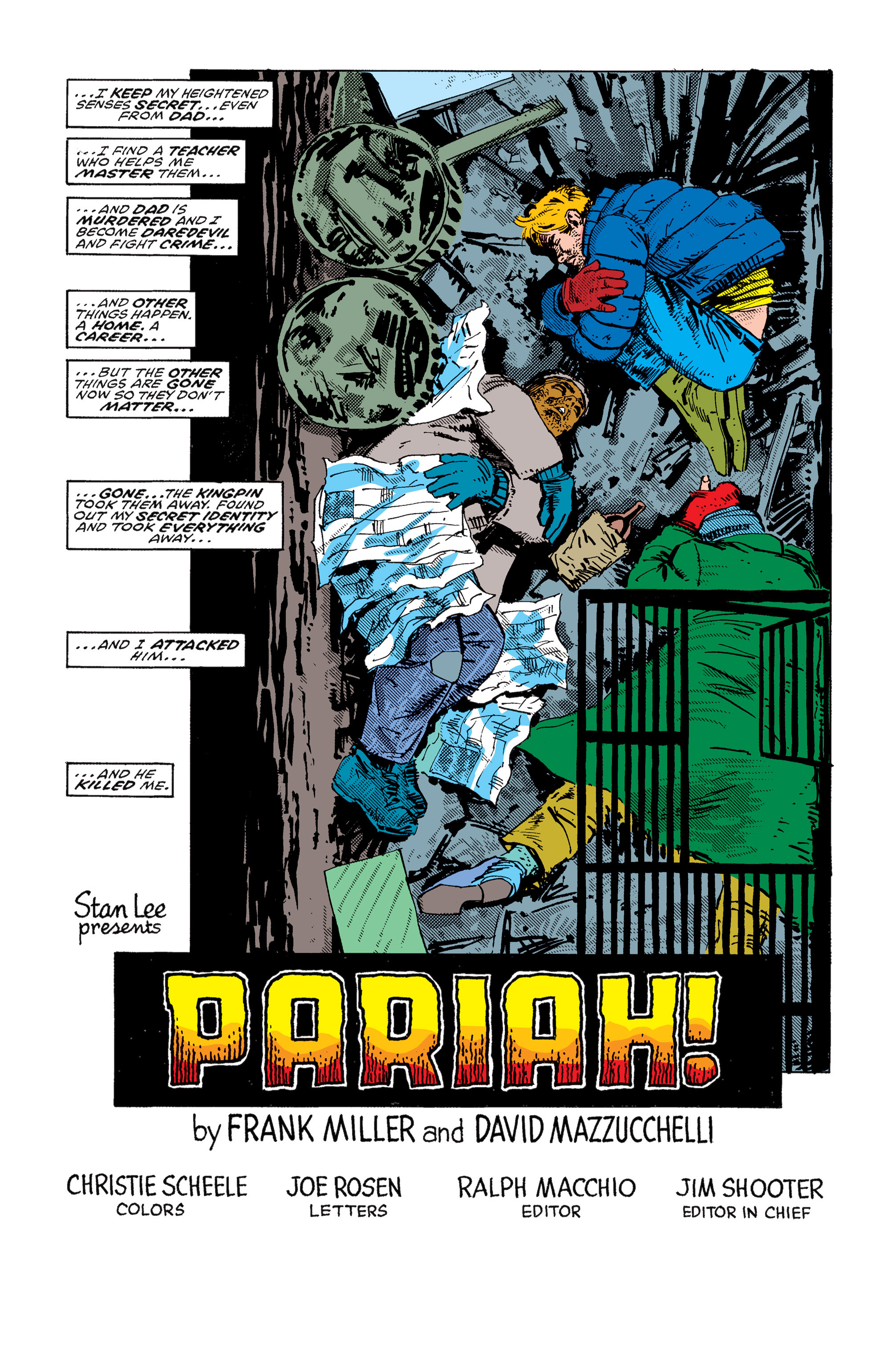 Read online Daredevil: Born Again comic -  Issue # Full - 82