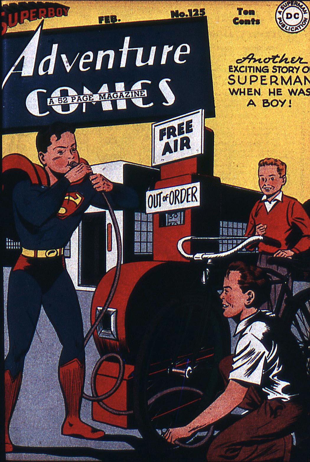 Read online Adventure Comics (1938) comic -  Issue #125 - 2