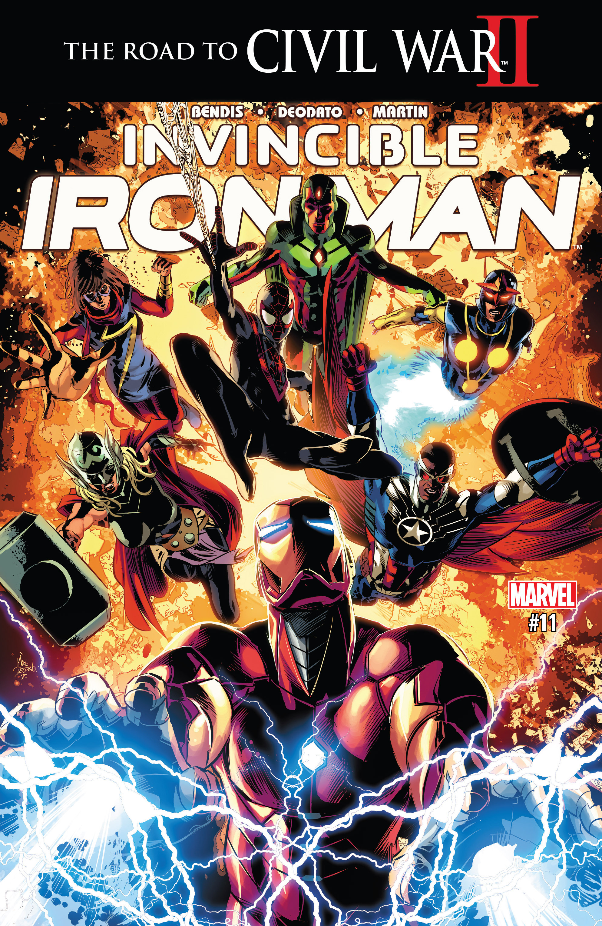 Read online True Believers: Invincible Iron Man-The War Machines comic -  Issue # Full - 109