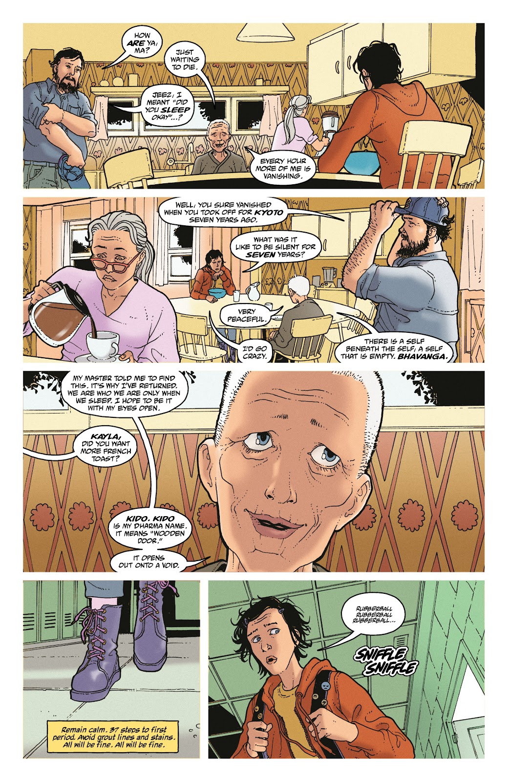 Read online She Could Fly comic -  Issue # _TPB - 27