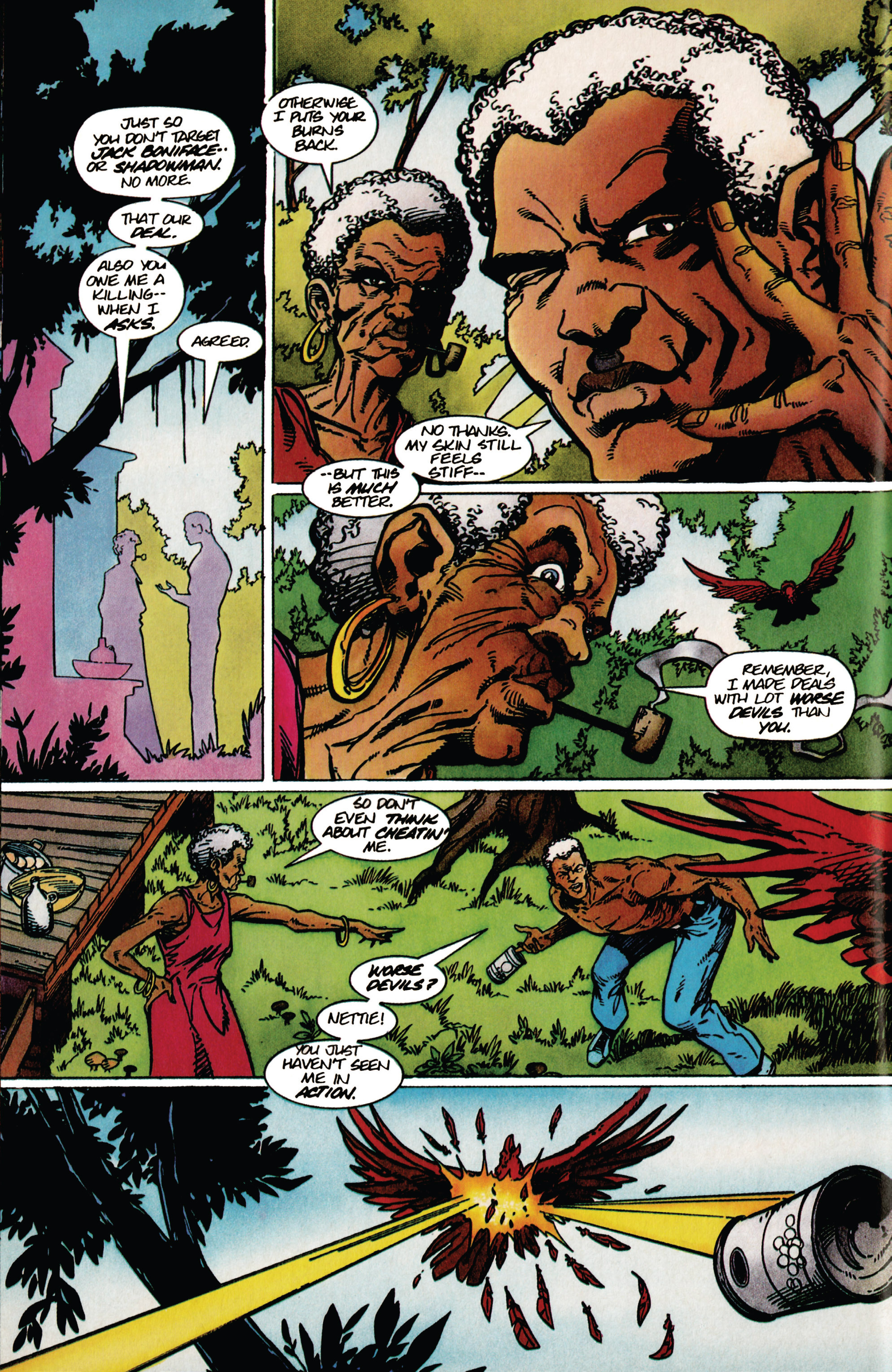 Read online Shadowman (1992) comic -  Issue #39 - 6
