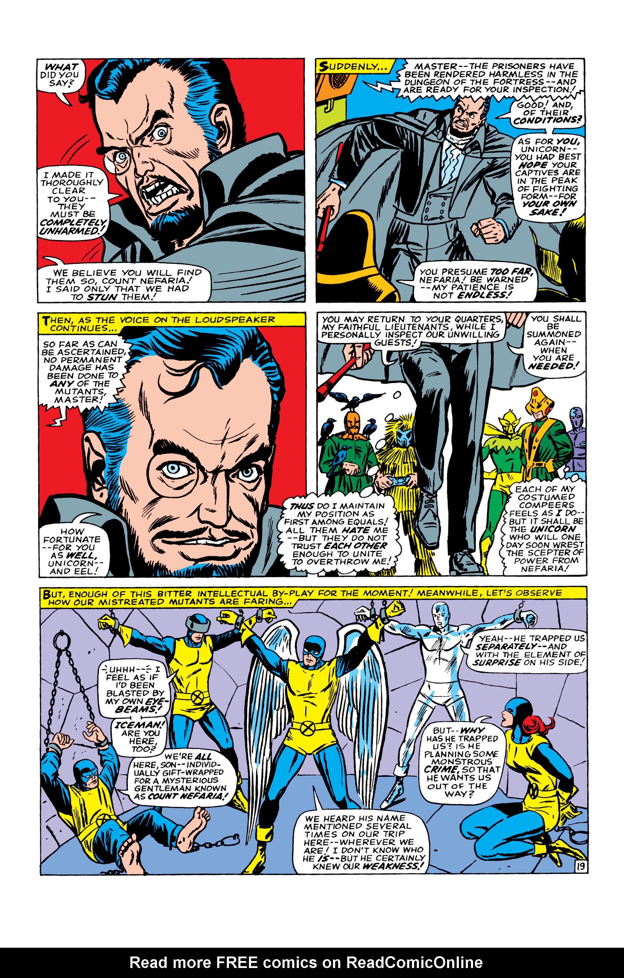Read online Uncanny X-Men (1963) comic -  Issue #22 - 20