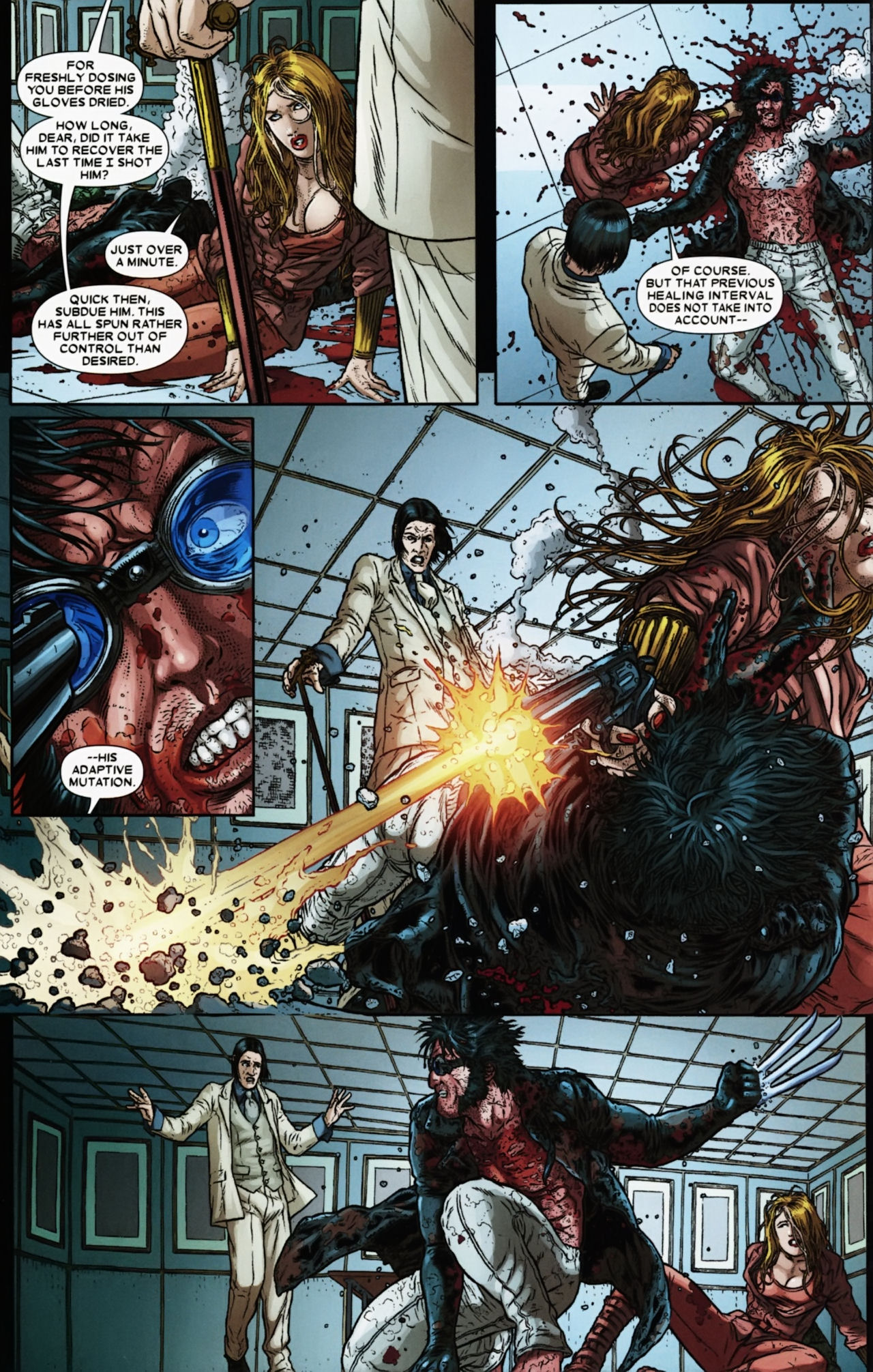 Read online Wolverine: The Best There Is comic -  Issue #6 - 18