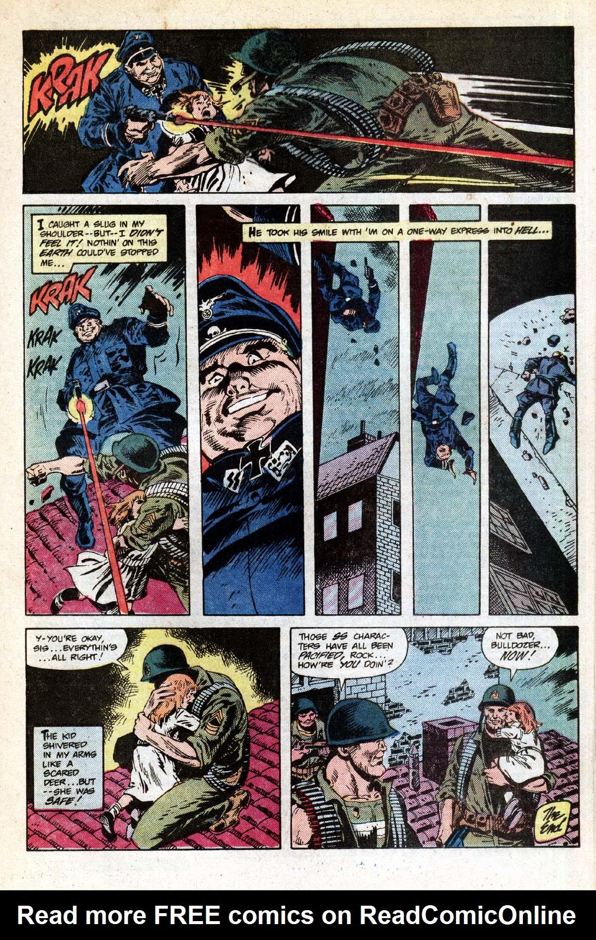 Read online Sgt. Rock comic -  Issue #391 - 16