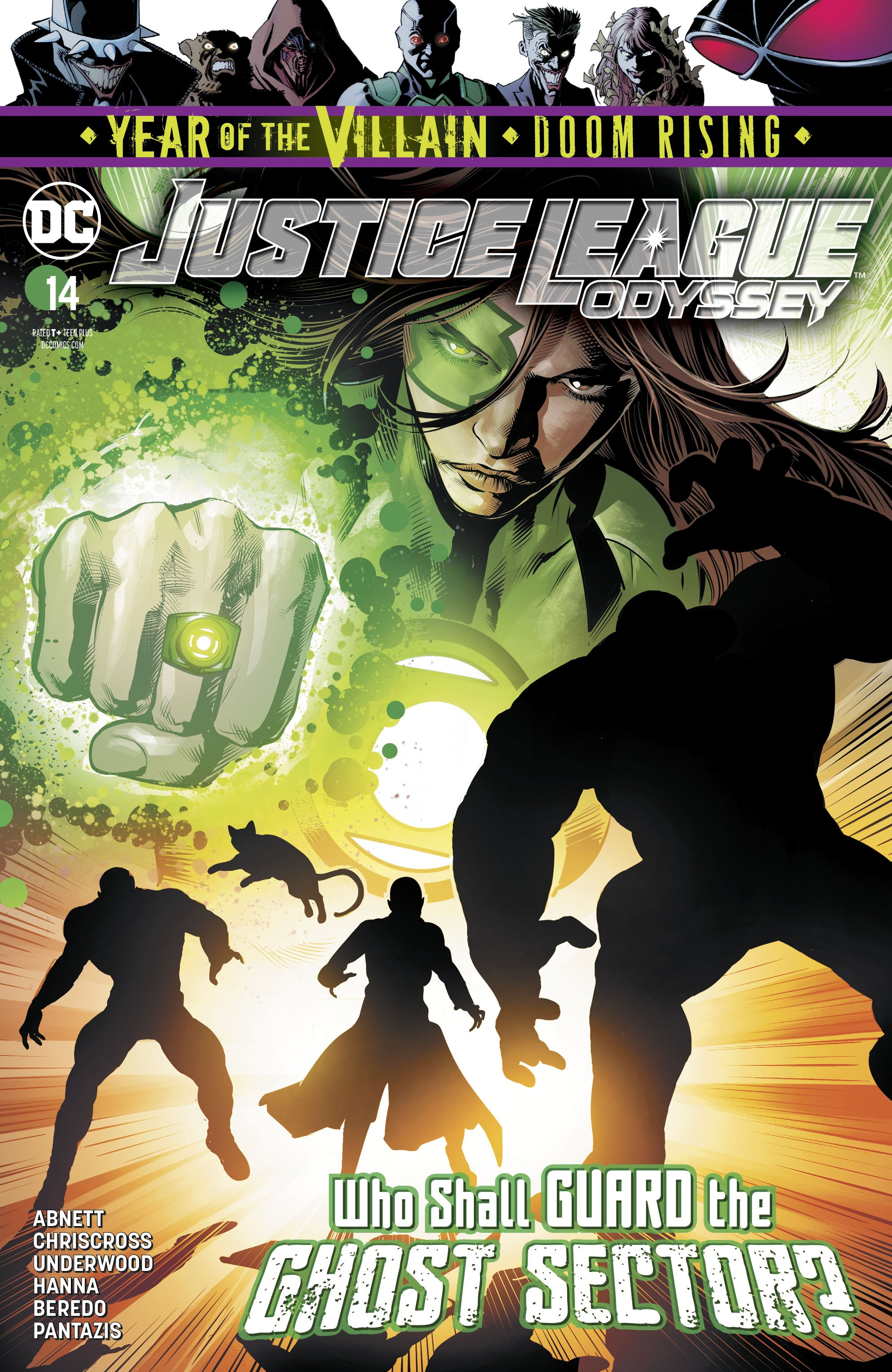 Justice League Odyssey 14 Page 1