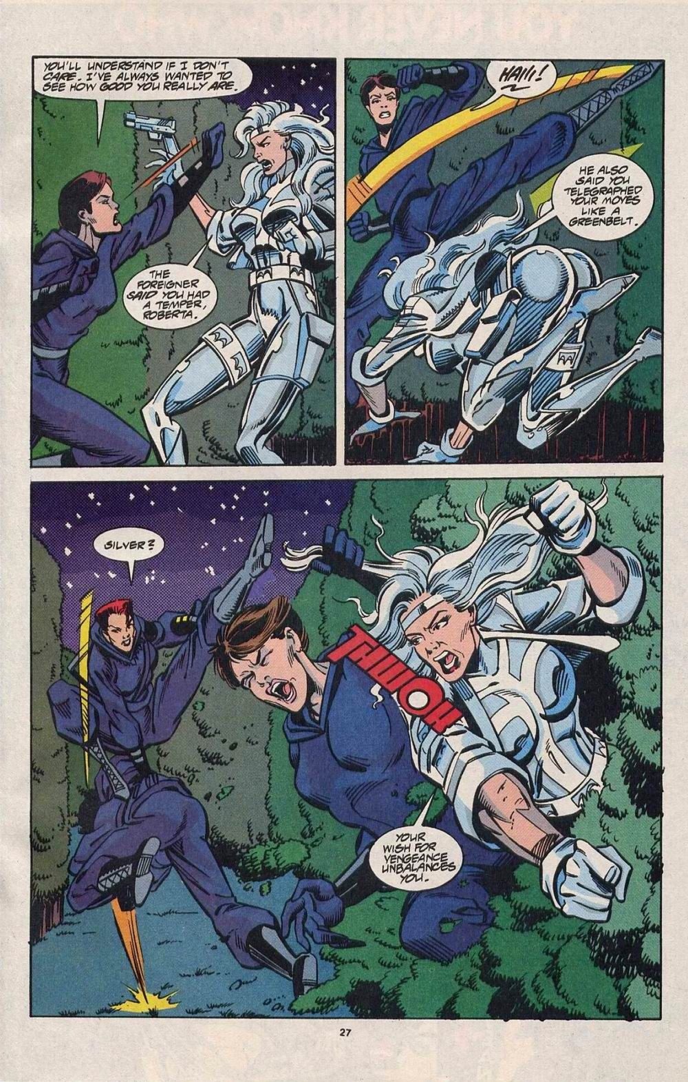 Read online Silver Sable and the Wild Pack comic -  Issue #28 - 21