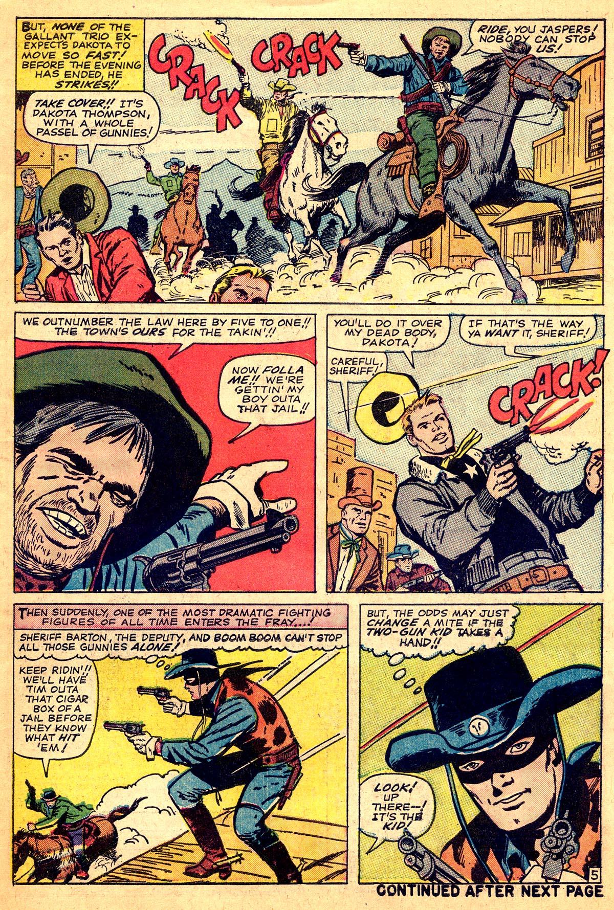 Read online Two-Gun Kid comic -  Issue #74 - 7