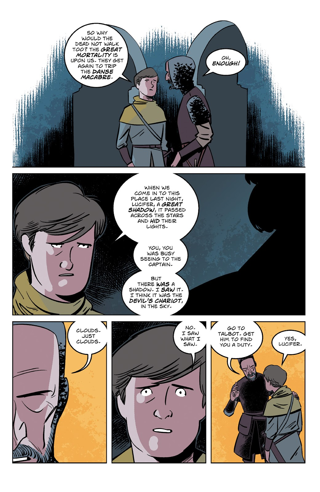 Read online Dark Ages comic -  Issue #2 - 7
