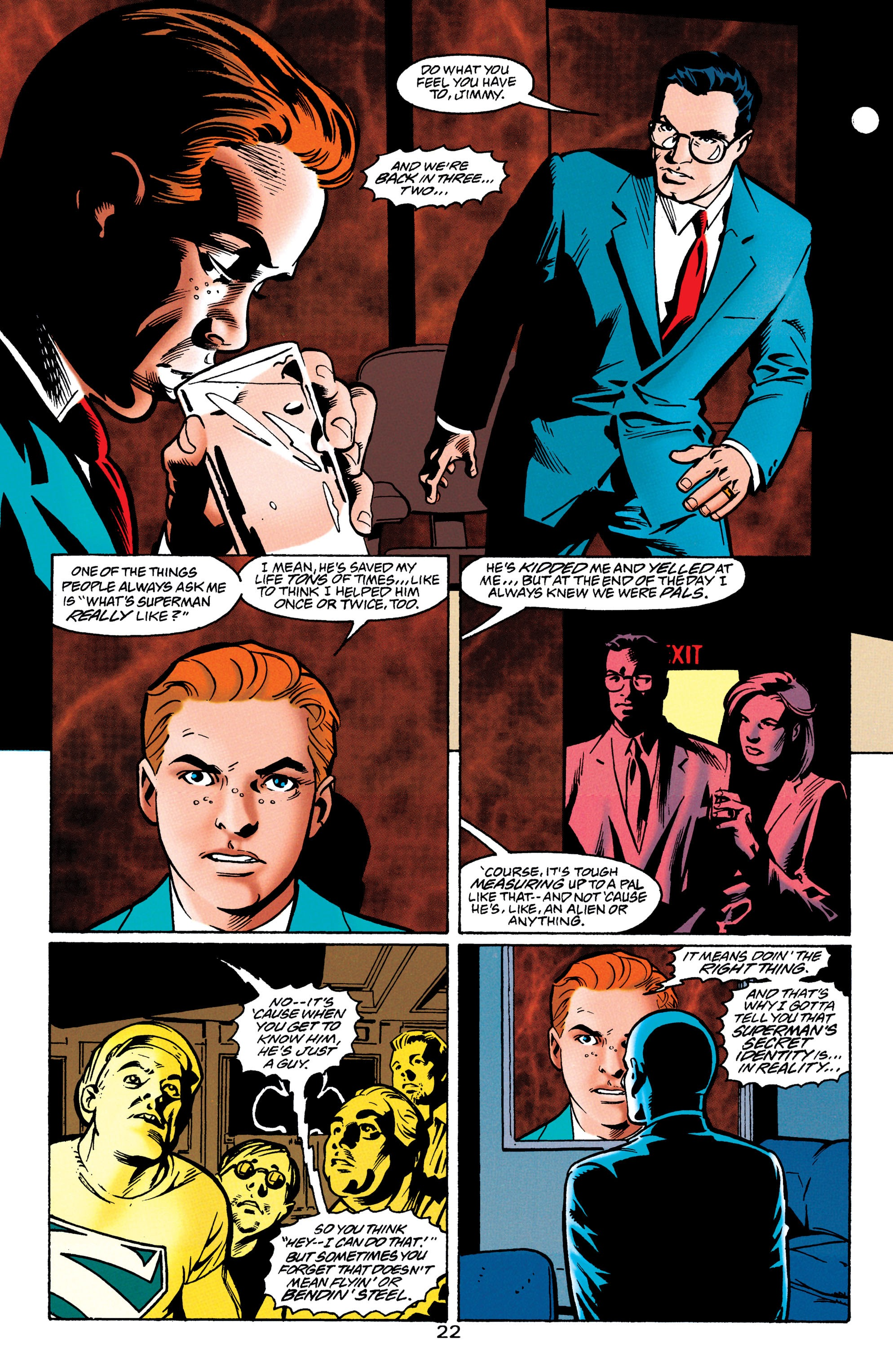 Adventures of Superman (1987) issue 550 - Page 23