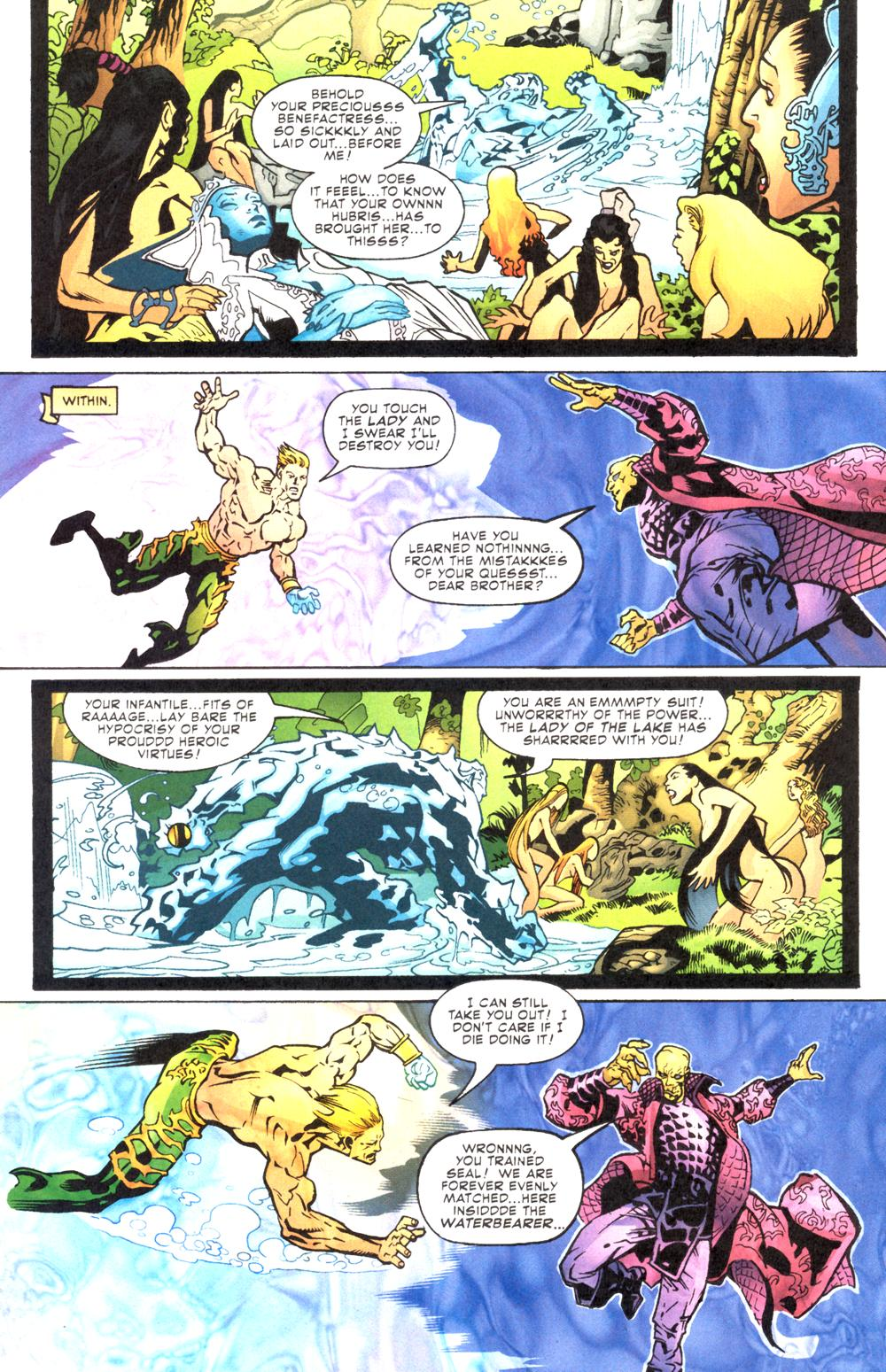 Read online Aquaman (2003) comic -  Issue #12 - 14