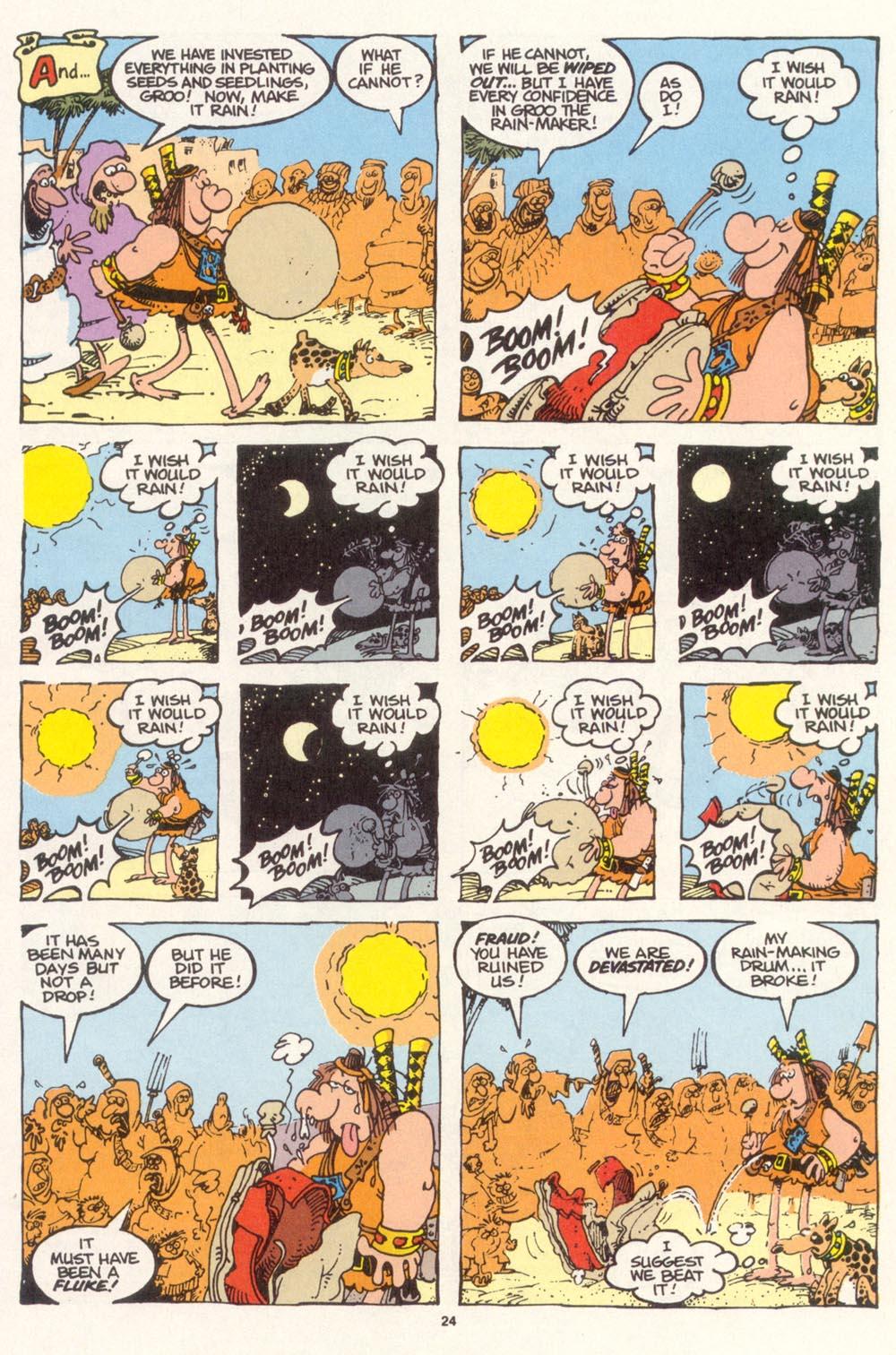 Read online Sergio Aragonés Groo the Wanderer comic -  Issue #113 - 26