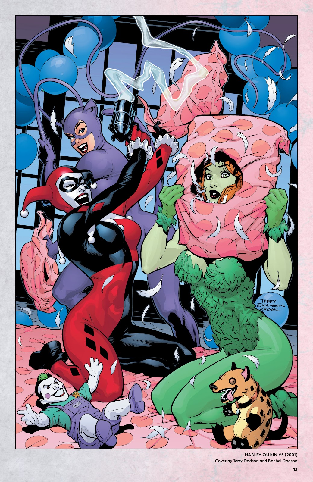 Read online Harley Quinn: A Rogue's Gallery―The Deluxe Cover Art Collection comic -  Issue # TPB (Part 1) - 12