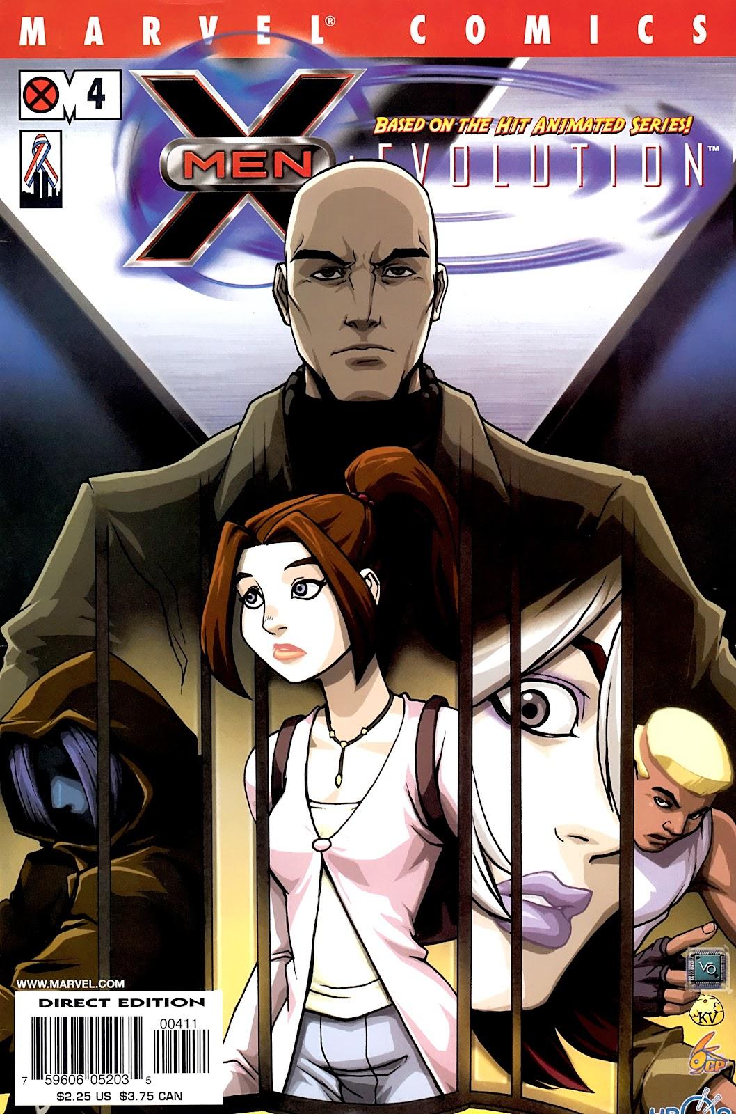 X-Men: Evolution 4 Page 1