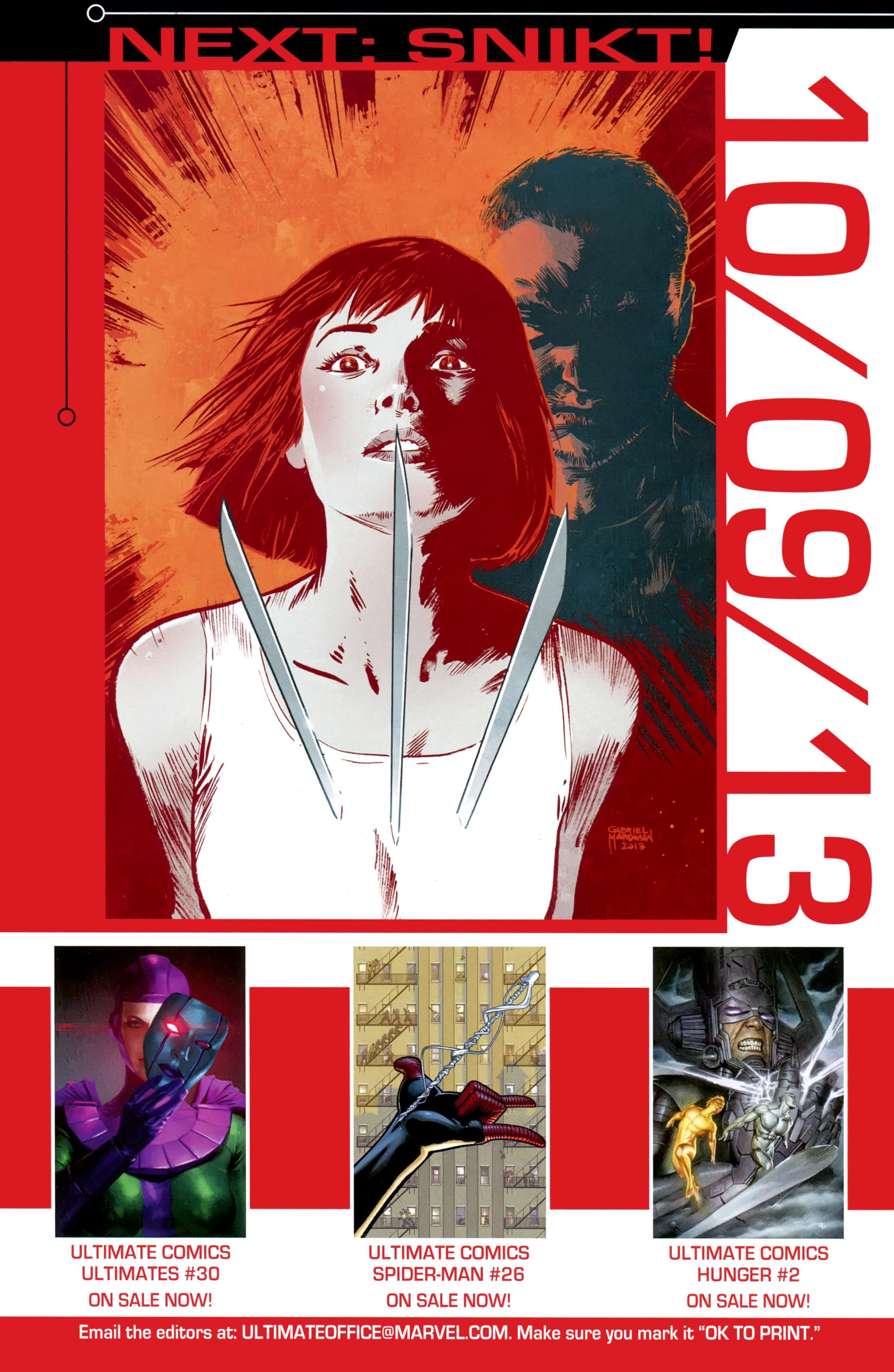 Read online Ultimate Comics X-Men comic -  Issue #31 - 24