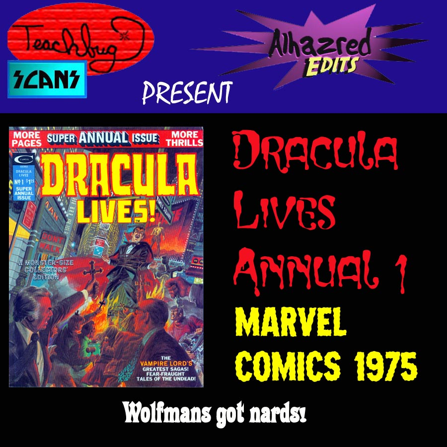 Dracula Lives issue 1 - Page 1