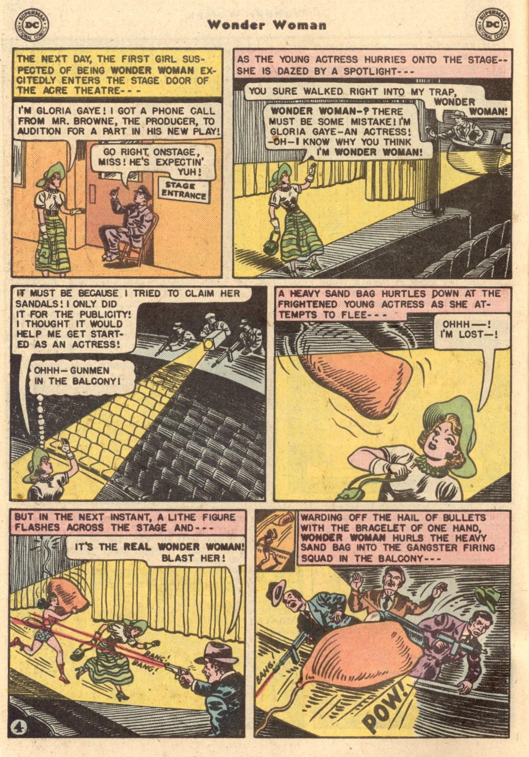 Read online Wonder Woman (1942) comic -  Issue #62 - 5