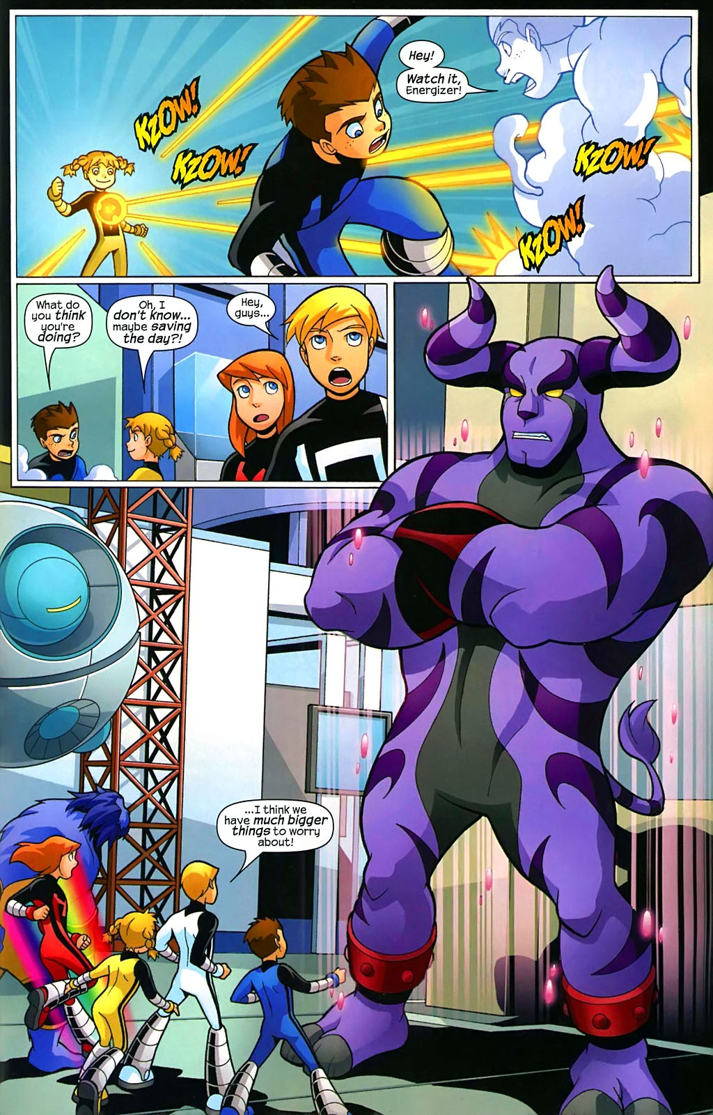 Read online X-Men and Power Pack comic -  Issue #2 - 20
