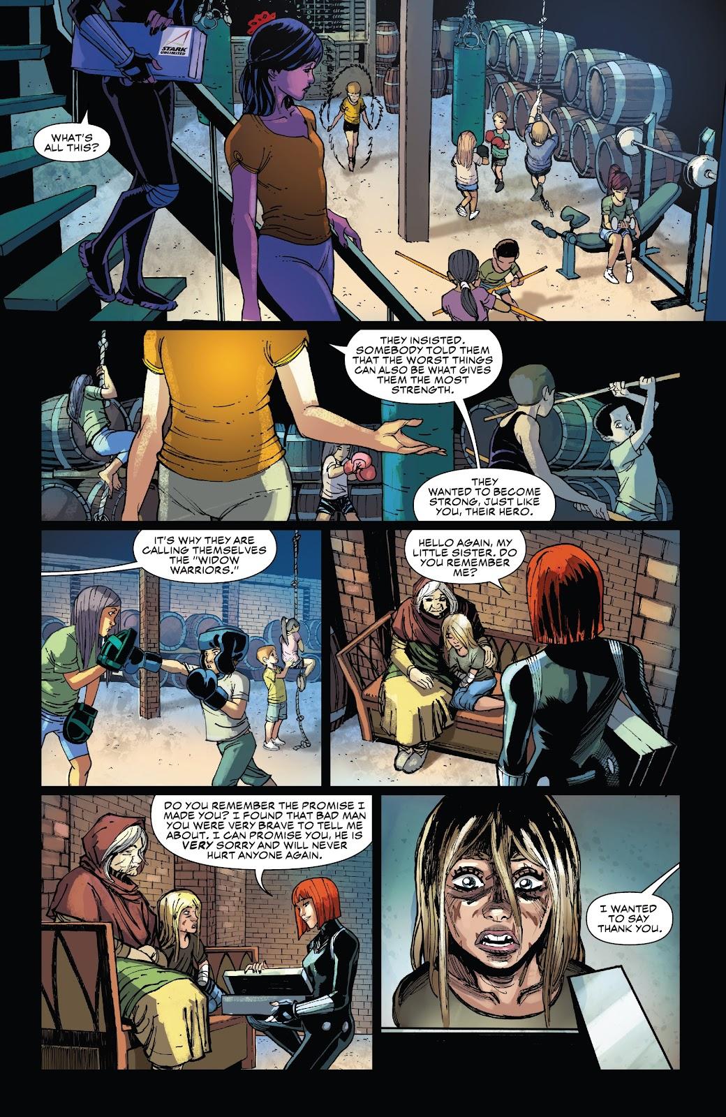 Read online Black Widow (2019) comic -  Issue #5 - 19