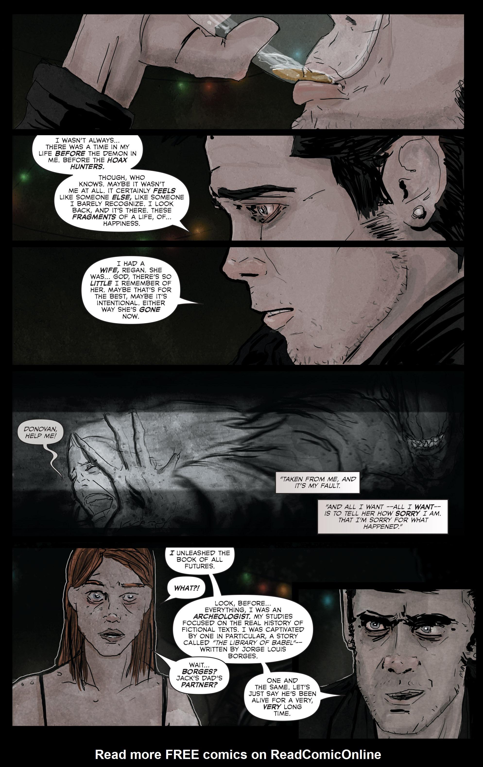 Read online Hoax Hunters (2012) comic -  Issue # TPB 3 - 47