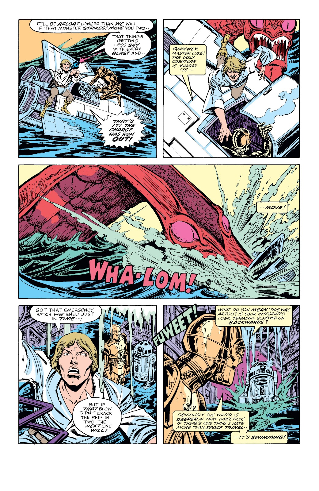Read online Star Wars Legends: The Original Marvel Years - Epic Collection comic -  Issue # TPB 1 (Part 3) - 5