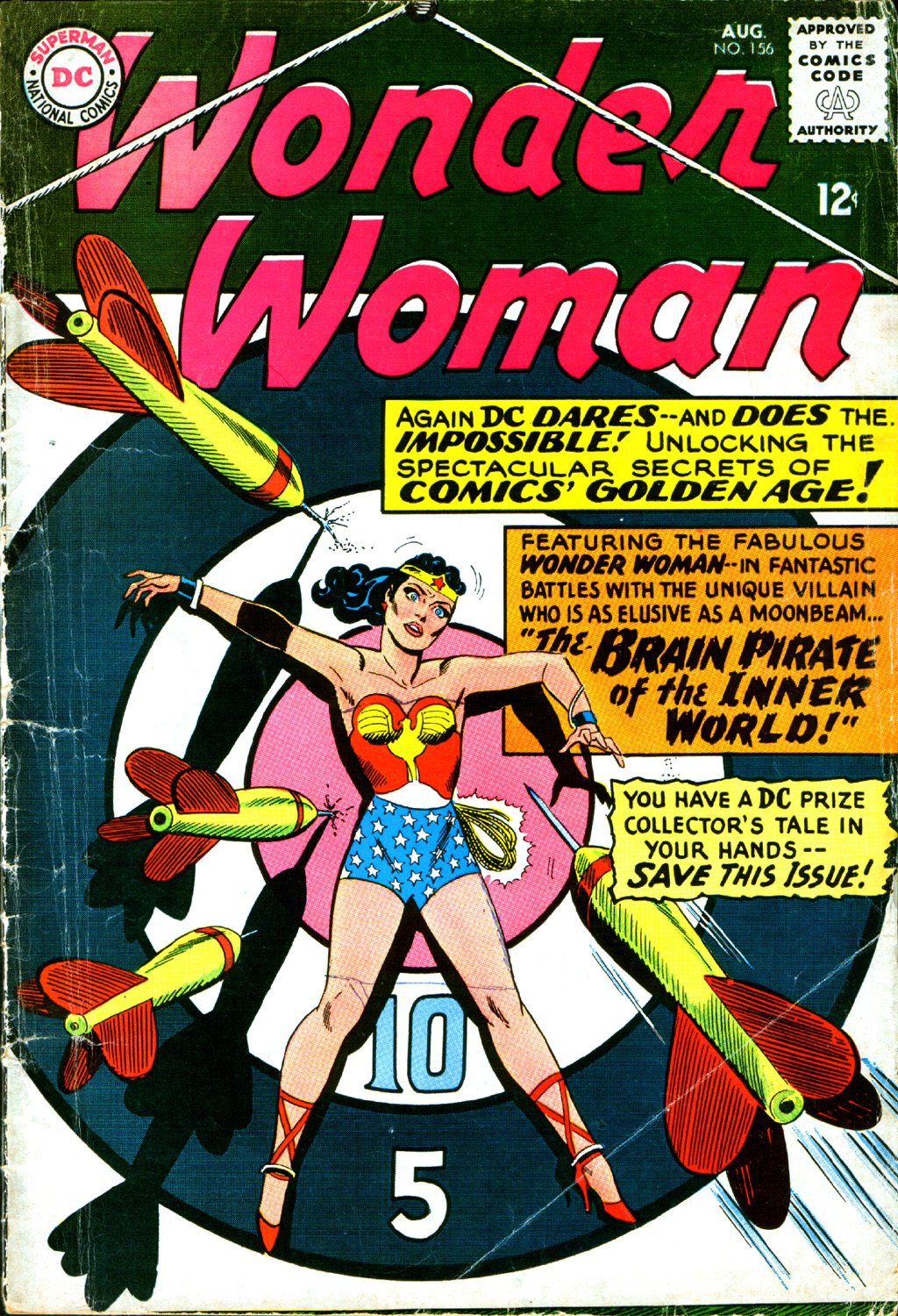 Read online Wonder Woman (1942) comic -  Issue #156 - 1