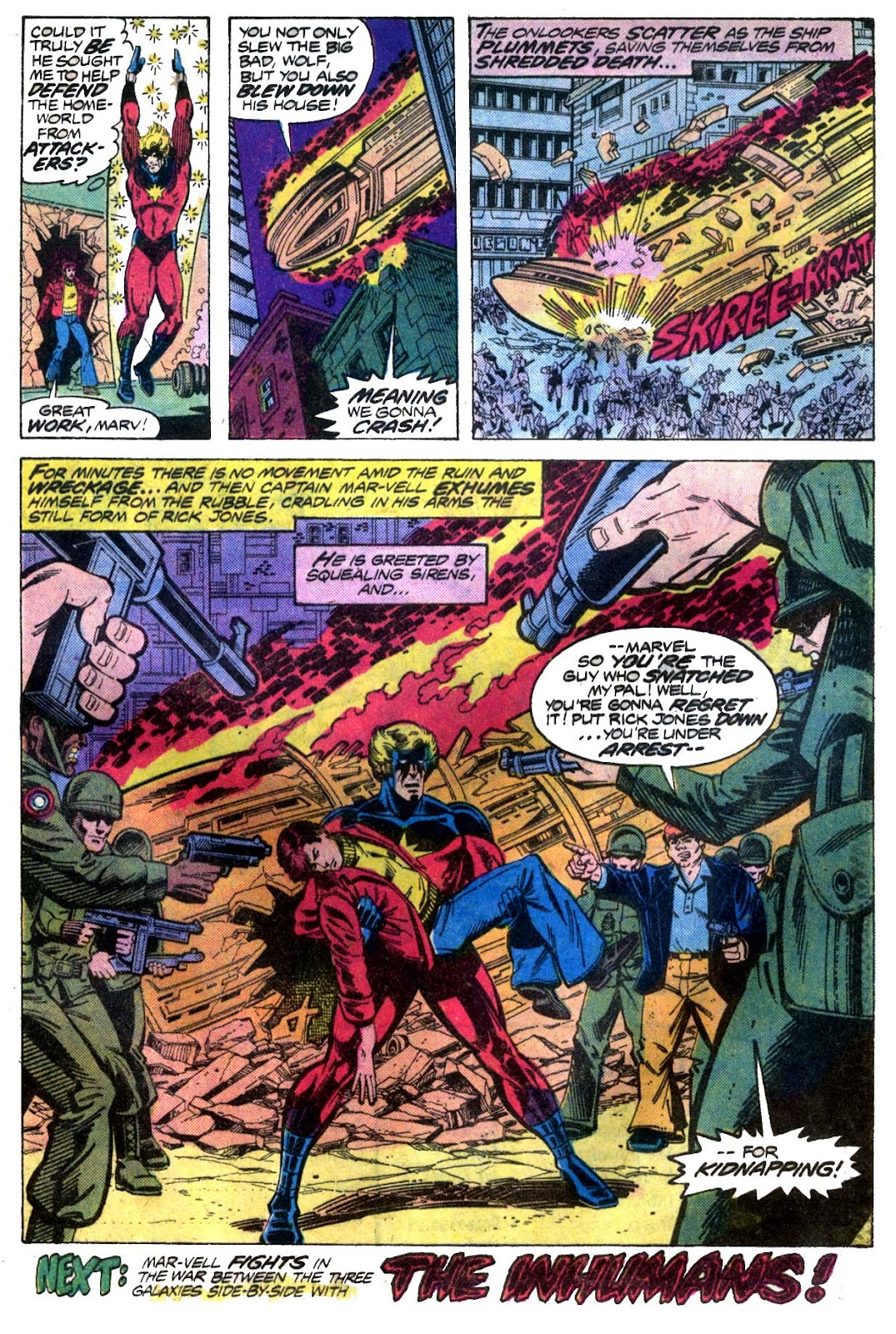 Captain Marvel (1968) issue 52 - Page 18