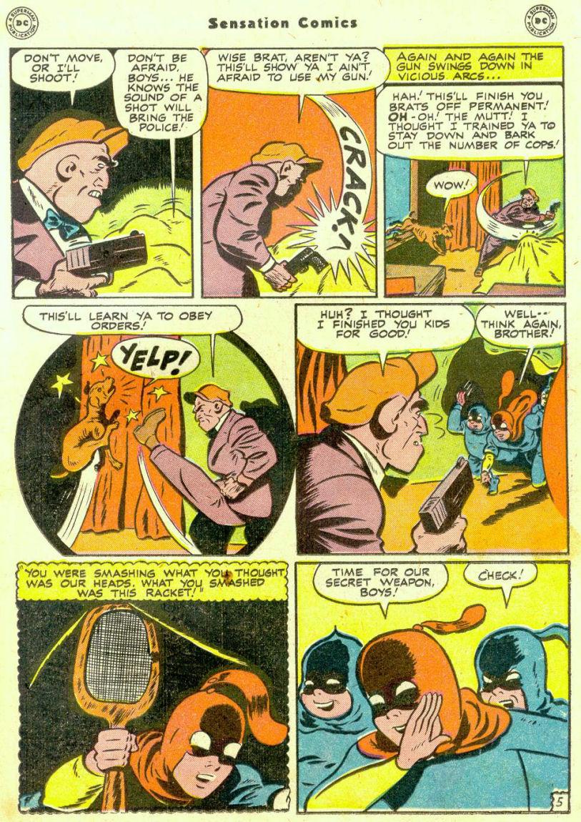 Read online Sensation (Mystery) Comics comic -  Issue #74 - 21