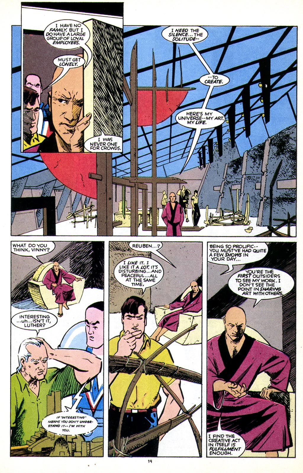 Read online American Flagg! comic -  Issue #43 - 18