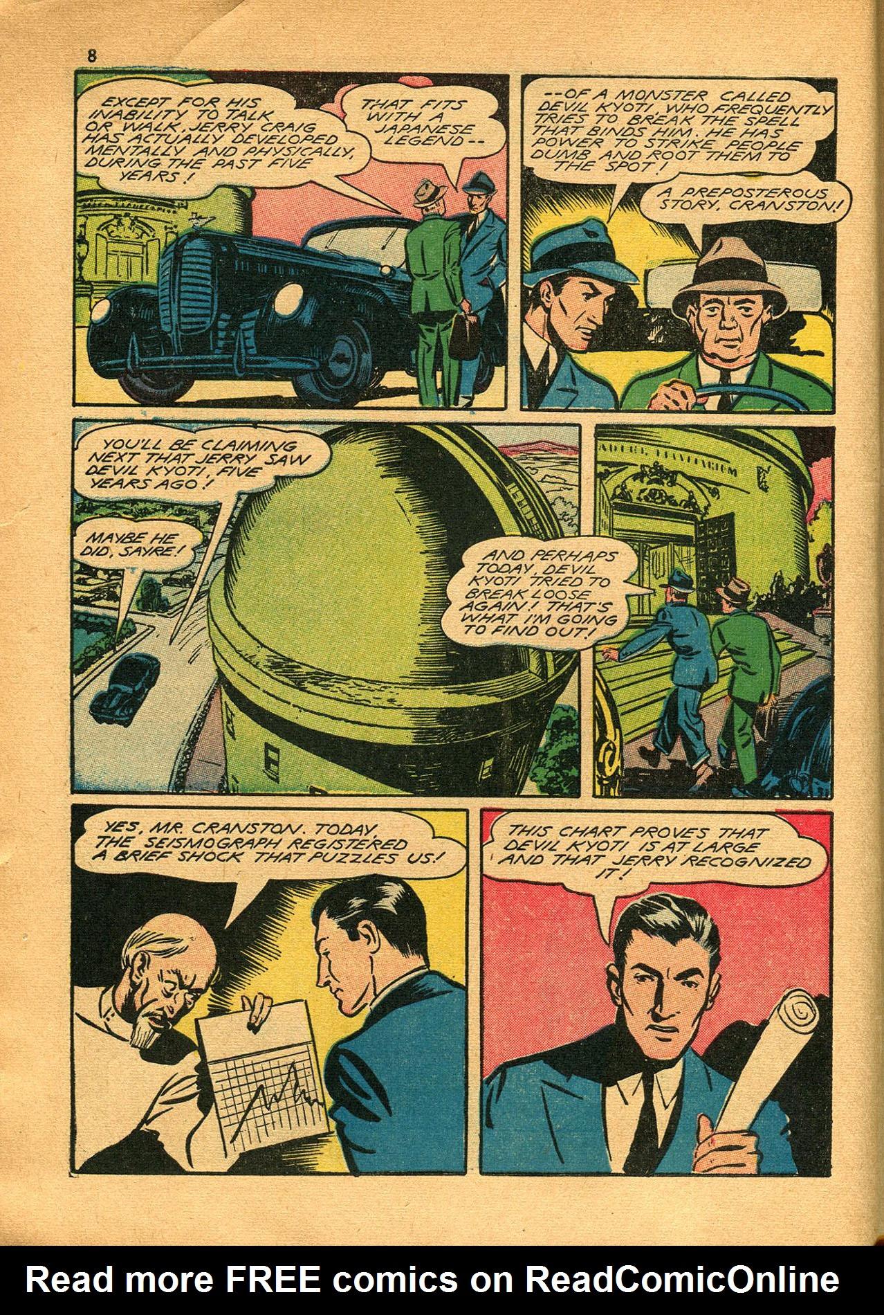 Read online Shadow Comics comic -  Issue #23 - 8