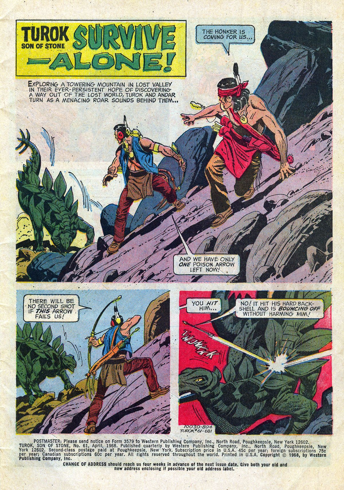 Read online Turok, Son of Stone comic -  Issue #61 - 3