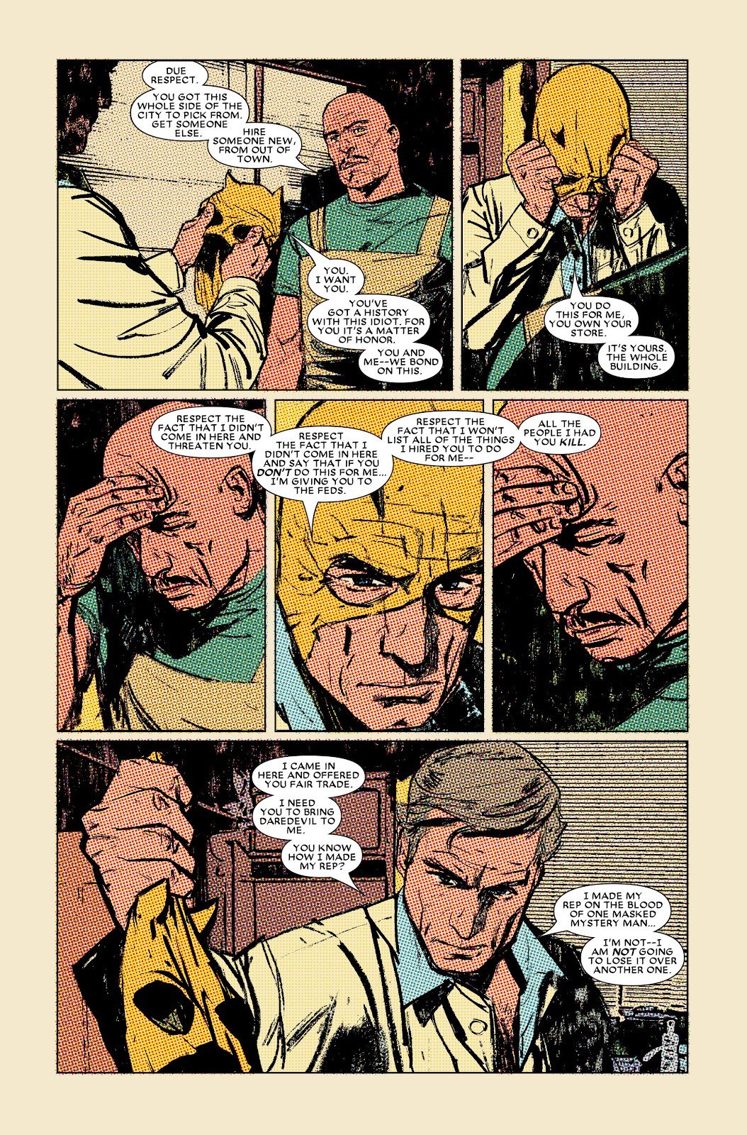 Read online Daredevil (1998) comic -  Issue # _Ultimate_Collection TPB 3 (Part 1) - 33