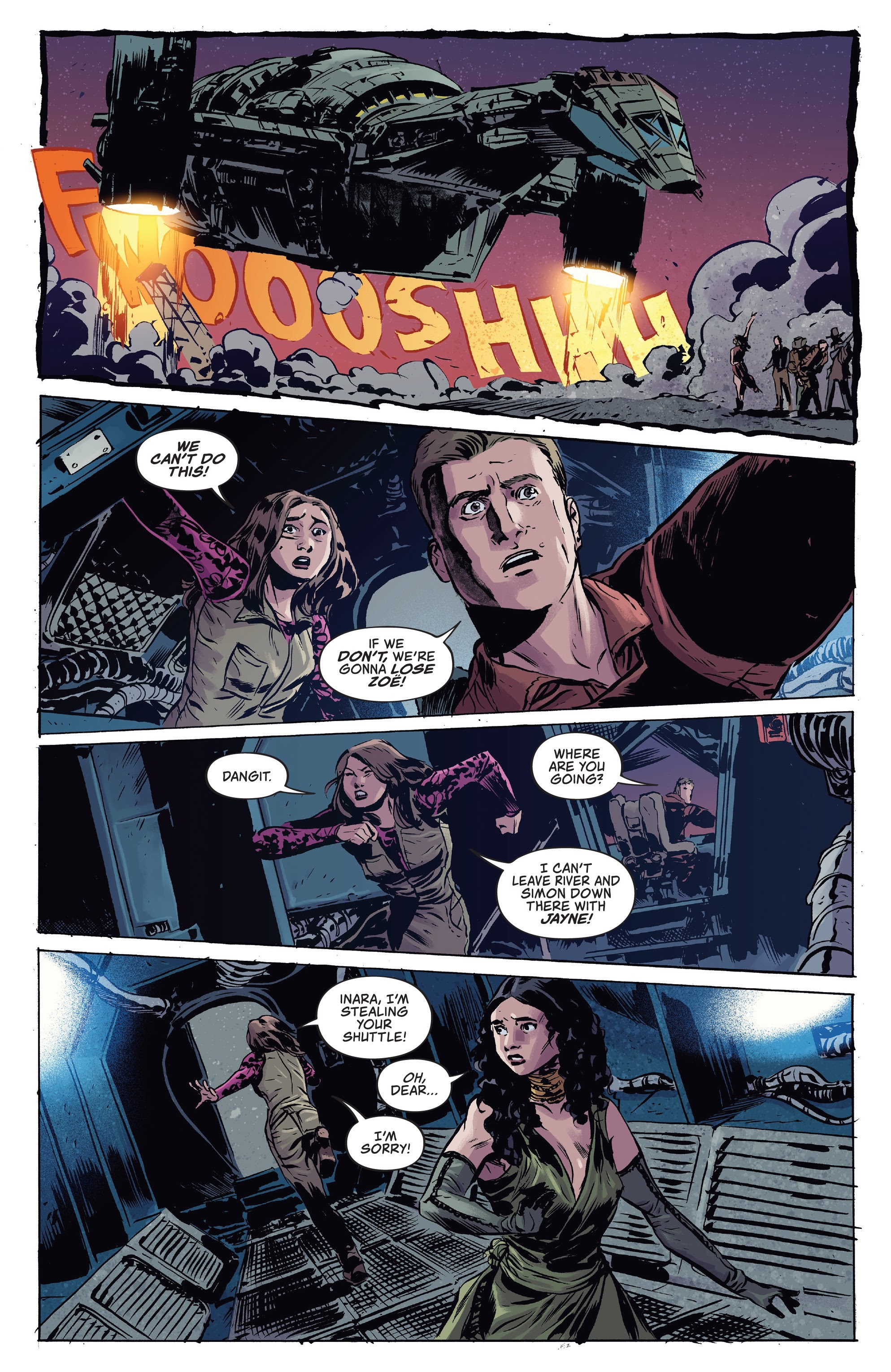 Read online Firefly comic -  Issue #7 - 5