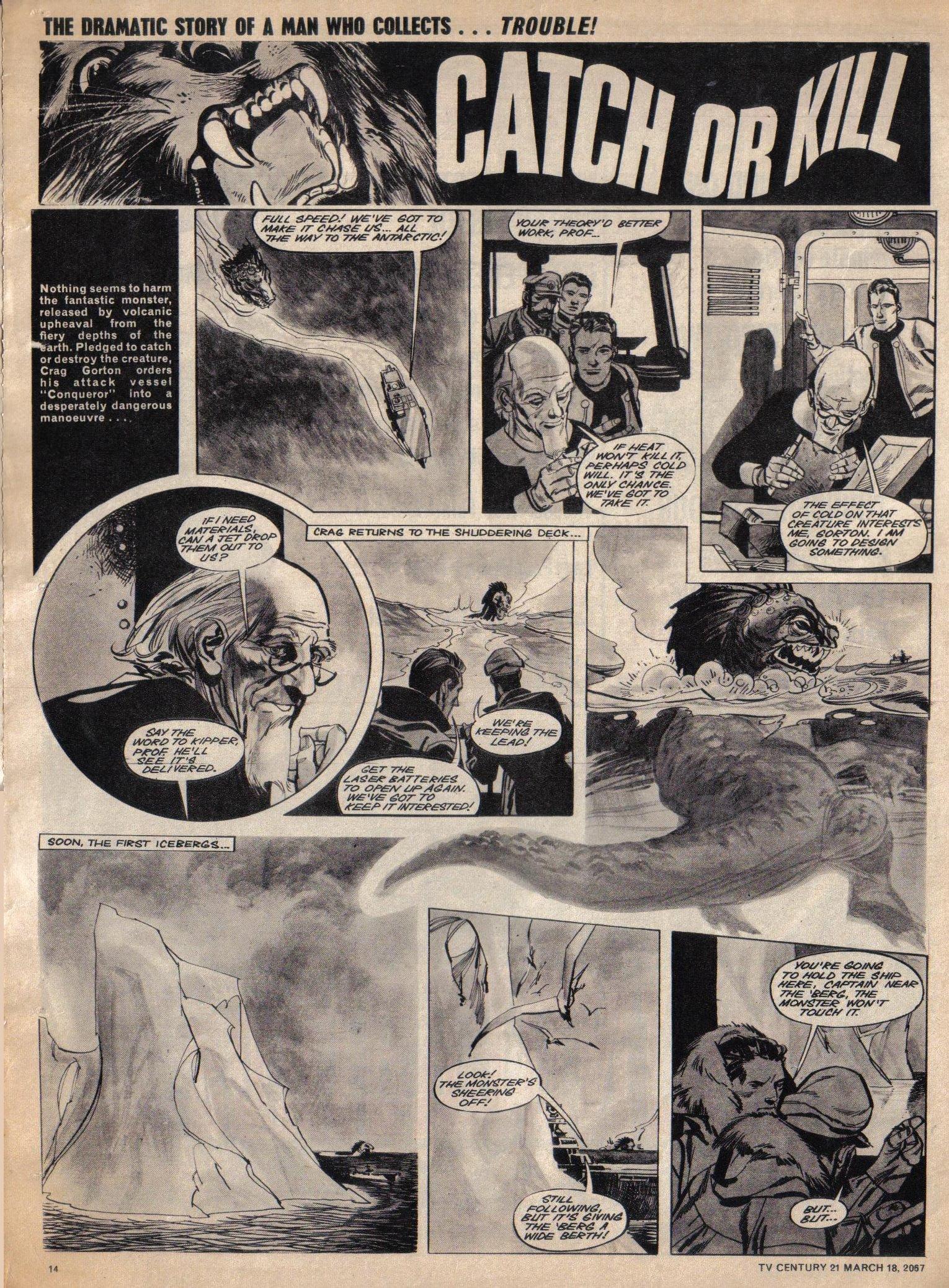Read online TV Century 21 (TV 21) comic -  Issue #113 - 13