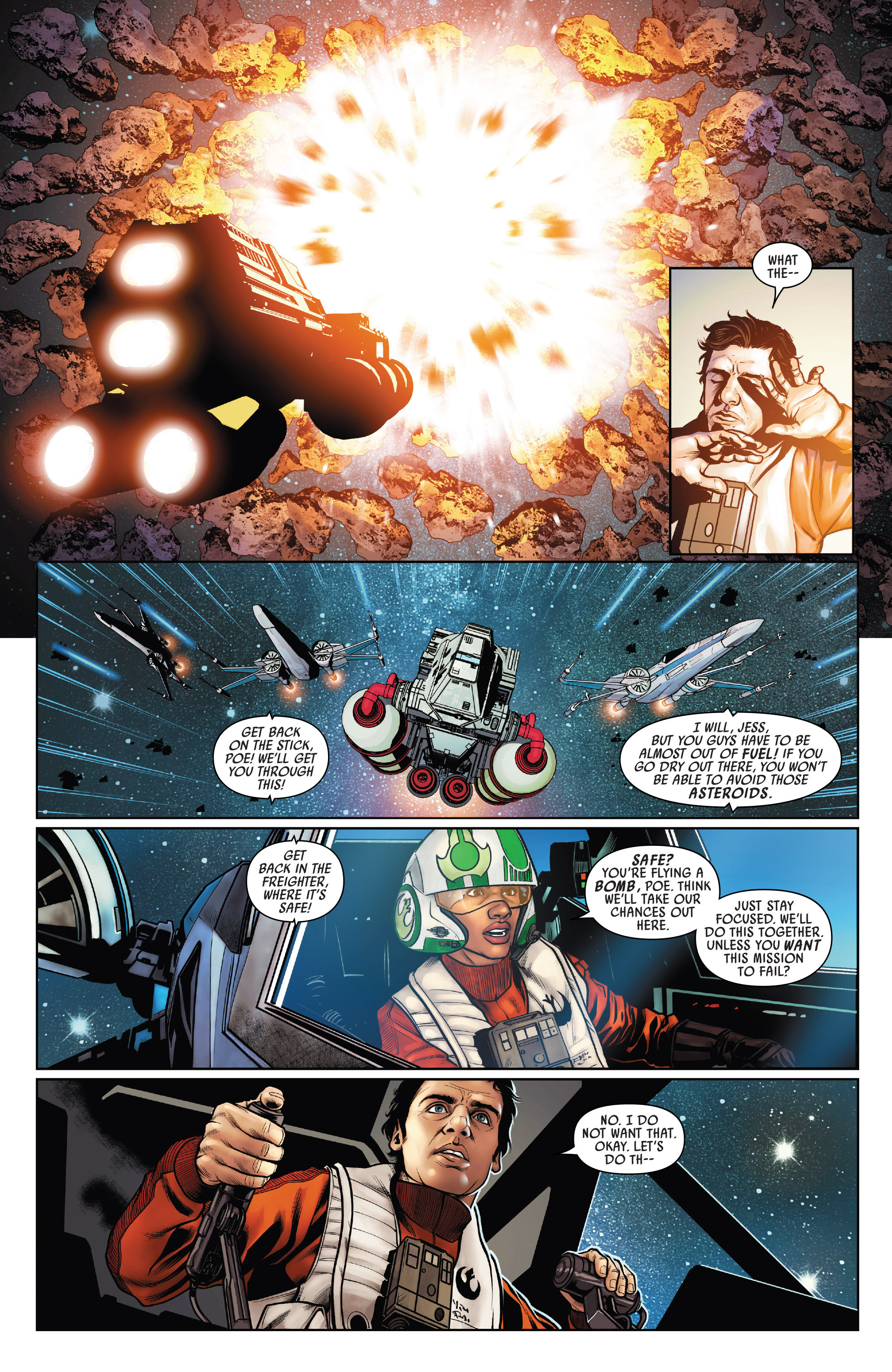 Read online Star Wars: Poe Dameron comic -  Issue #15 - 20