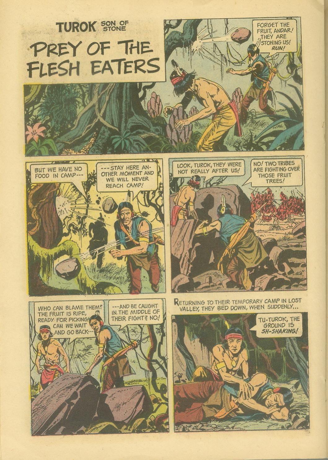 Read online Turok, Son of Stone comic -  Issue #30 - 22