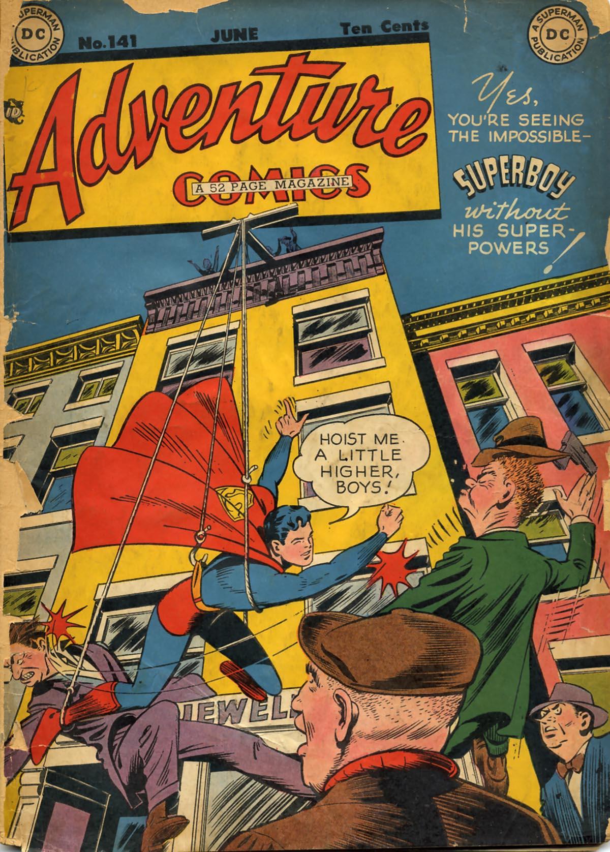 Read online Adventure Comics (1938) comic -  Issue #141 - 1
