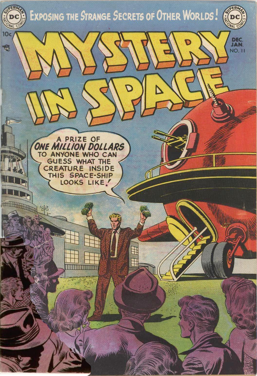 Mystery in Space (1951) issue 11 - Page 1