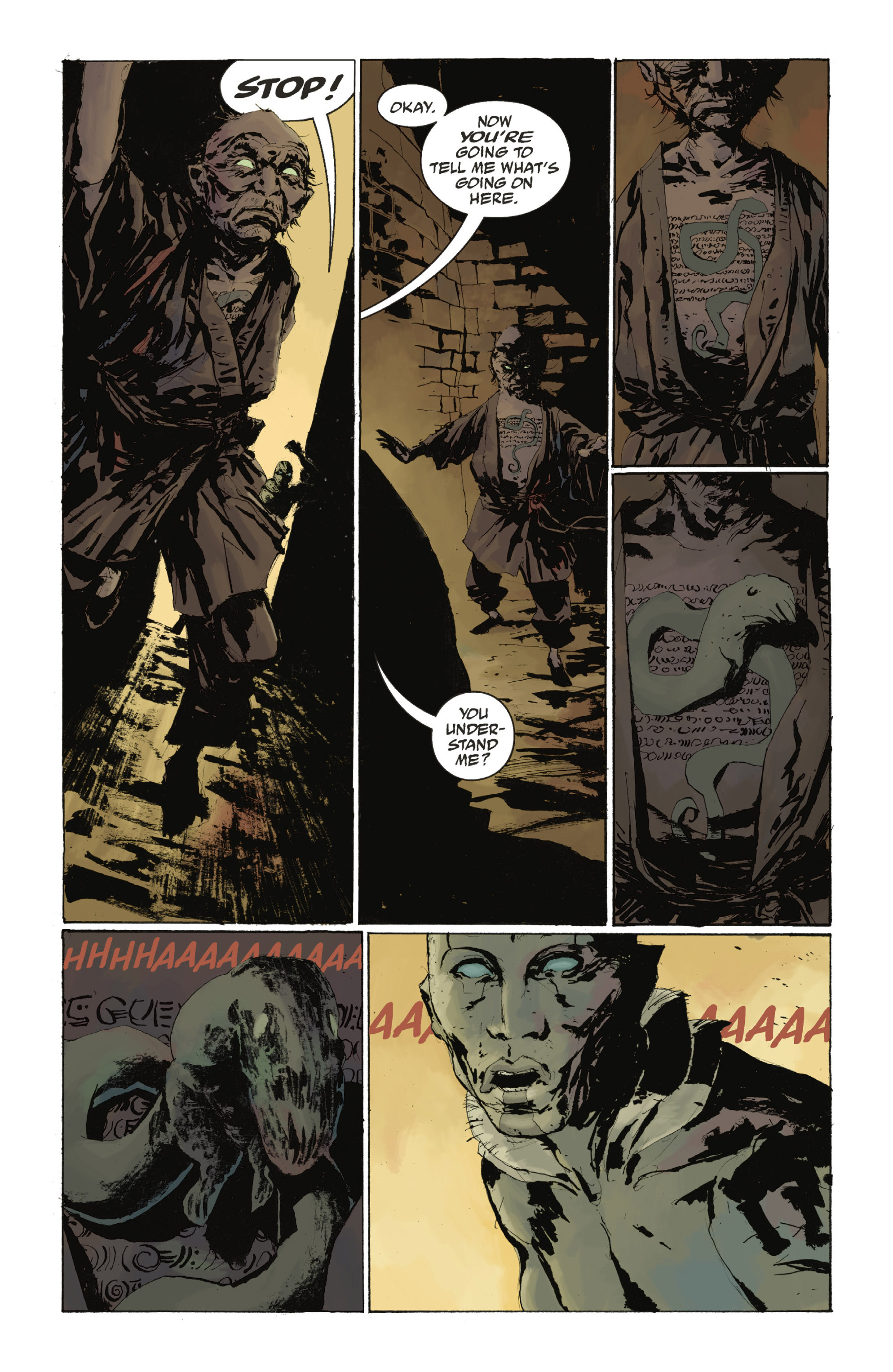 Read online Abe Sapien: The Drowning comic -  Issue #Abe Sapien: The Drowning _TPB - 71