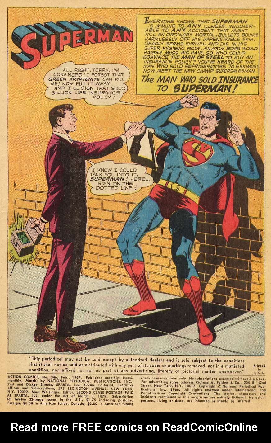 Read online Action Comics (1938) comic -  Issue #346 - 3