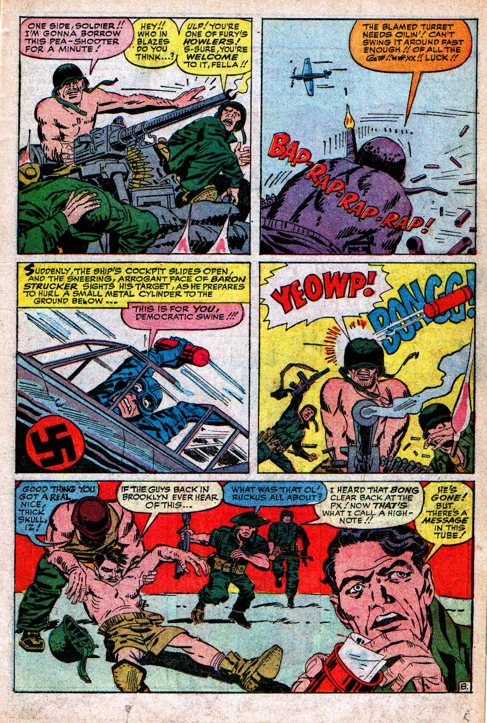 Read online Sgt. Fury comic -  Issue #5 - 11