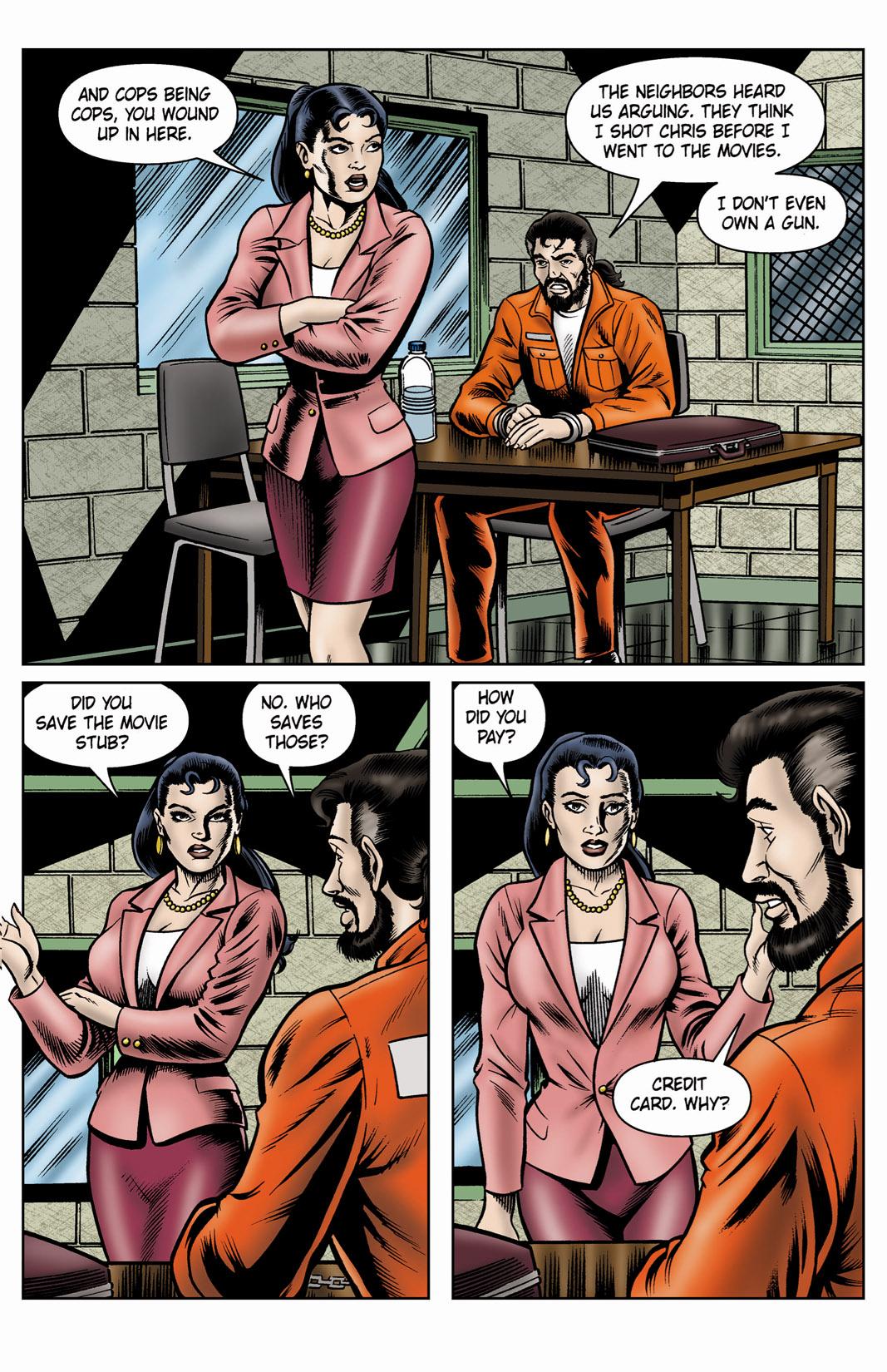 Read online SideChicks comic -  Issue #4 - 15