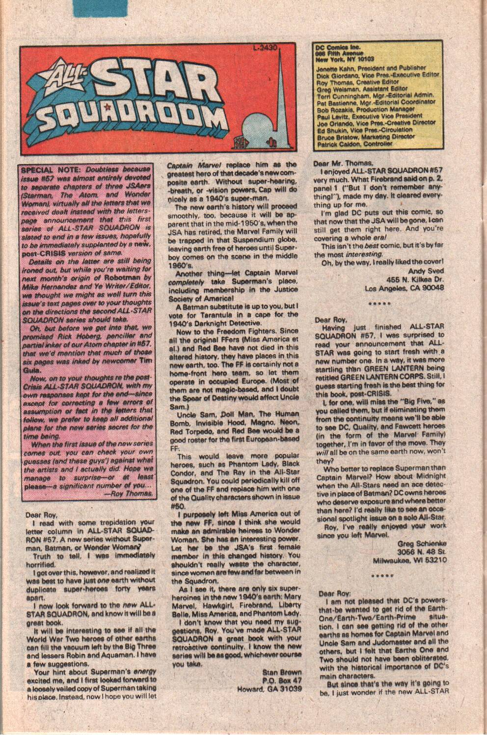 Read online All-Star Squadron comic -  Issue #62 - 32