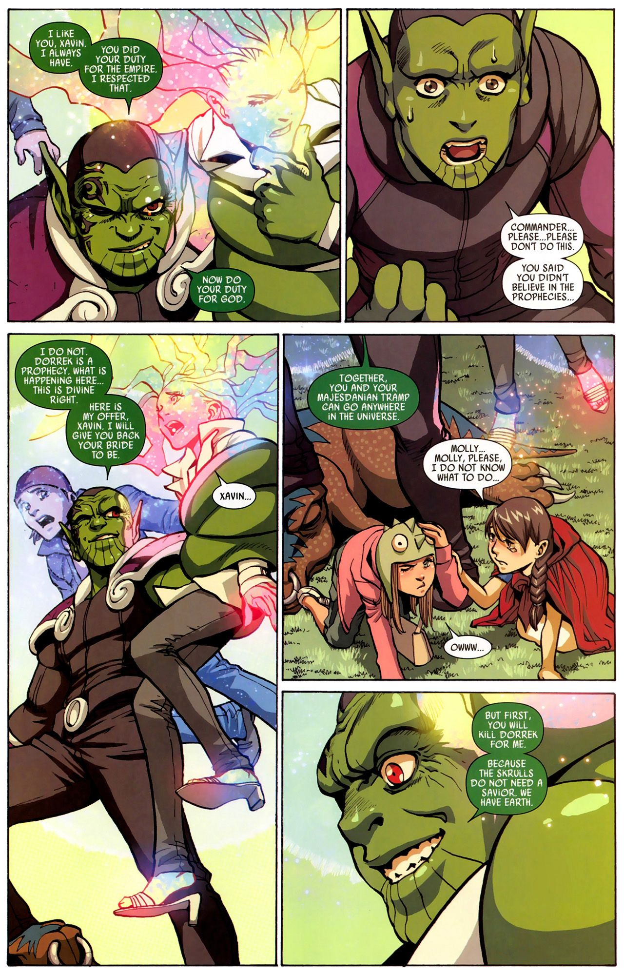 Read online Secret Invasion: Runaways/Young Avengers comic -  Issue #3 - 10