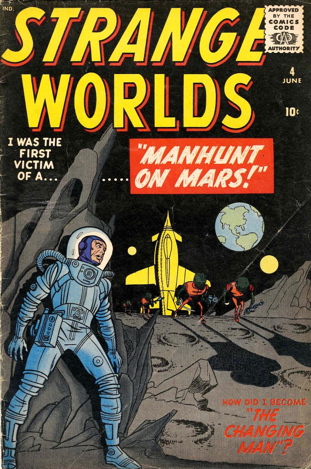 Strange Worlds issue 4 - Page 1