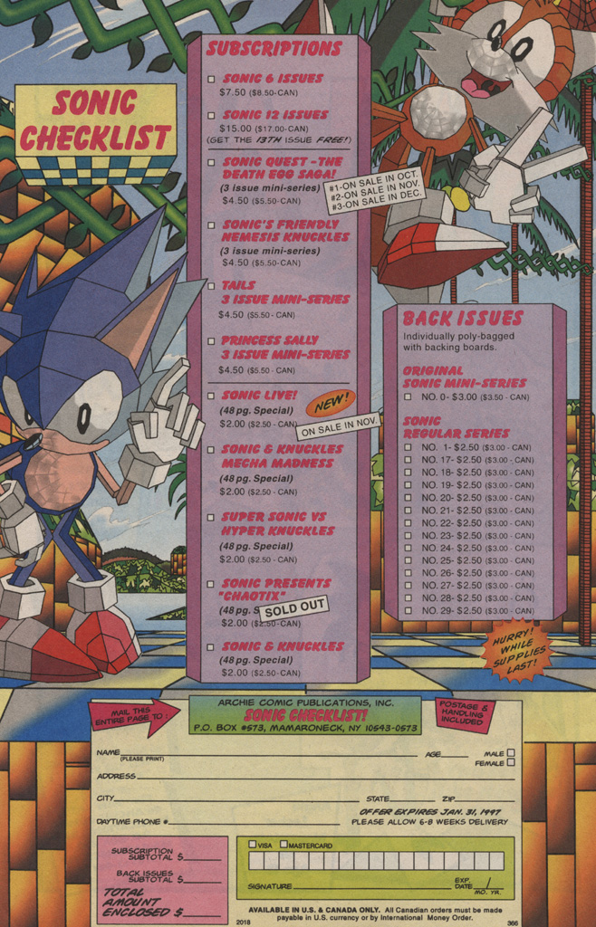 Read online Sonic Quest - The Death Egg Saga comic -  Issue #3 - 34